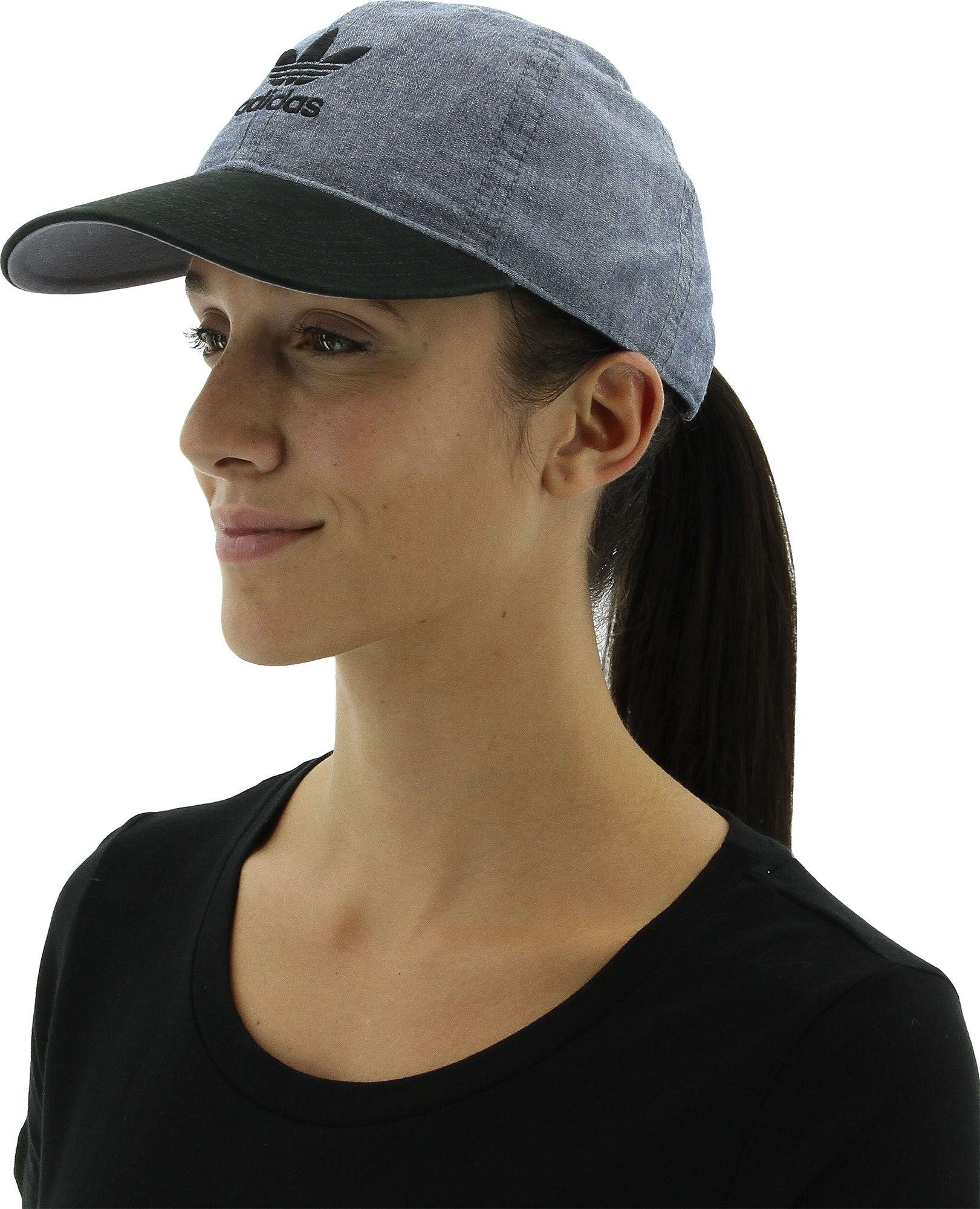 Lyst - adidas Originals Relaxed Strapback Hat 07614ab356c