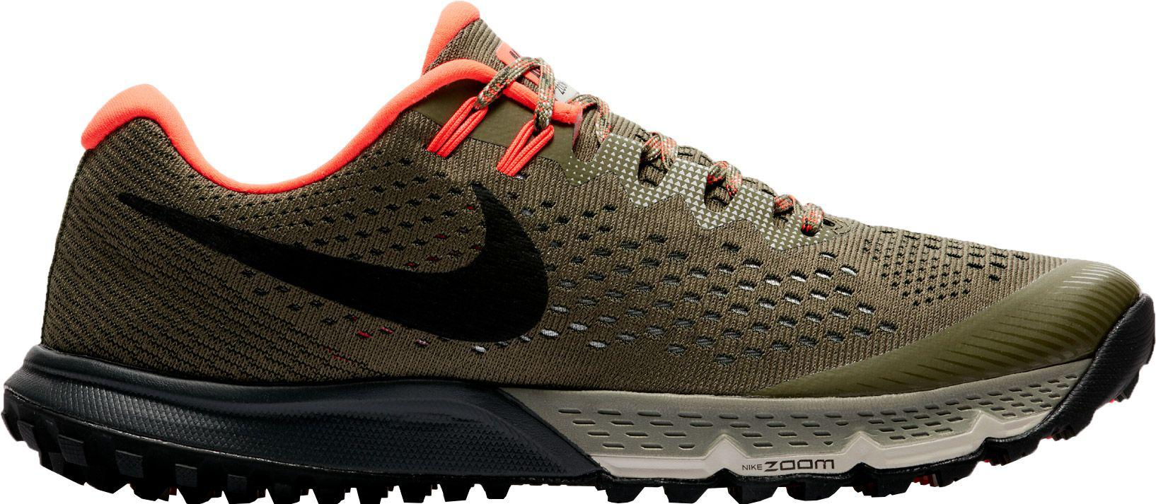 save off 0e5db 607c5 ... reduced nike multicolor air zoom terra kiger 4 trail running shoes for  men lyst fb6af b4f04