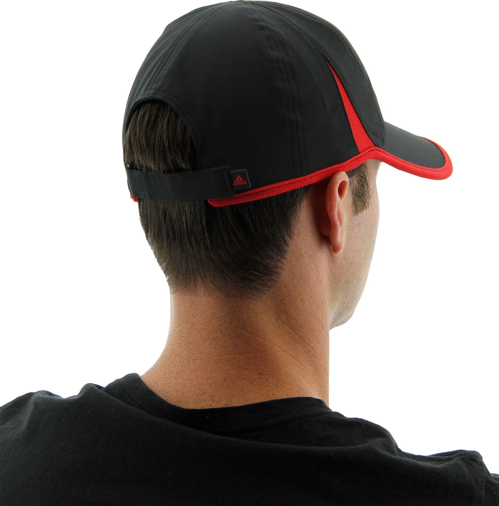 119d4cc742e1a adidas Adizero Adjustable Cap in Black for Men - Lyst