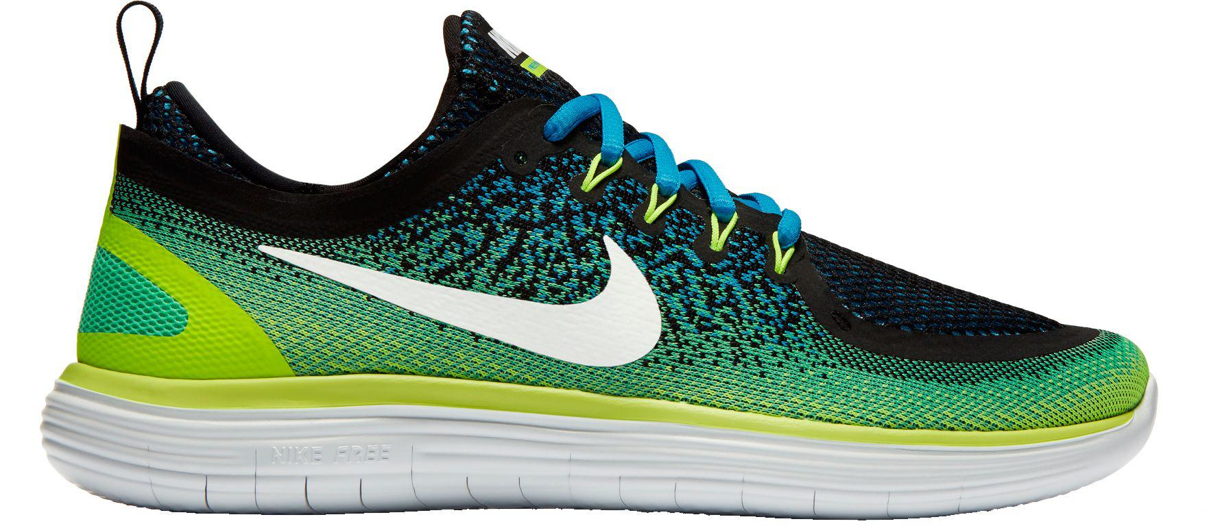 677538efadbf Lyst - Nike Free Rn Distance 2 Running Shoes in Green for Men