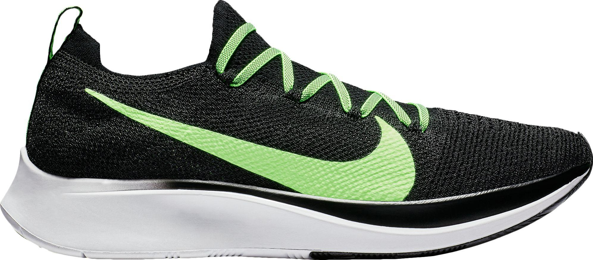 separation shoes 0c028 5bdb5 Nike - Green Zoom Fly Flyknit Running Shoes for Men - Lyst