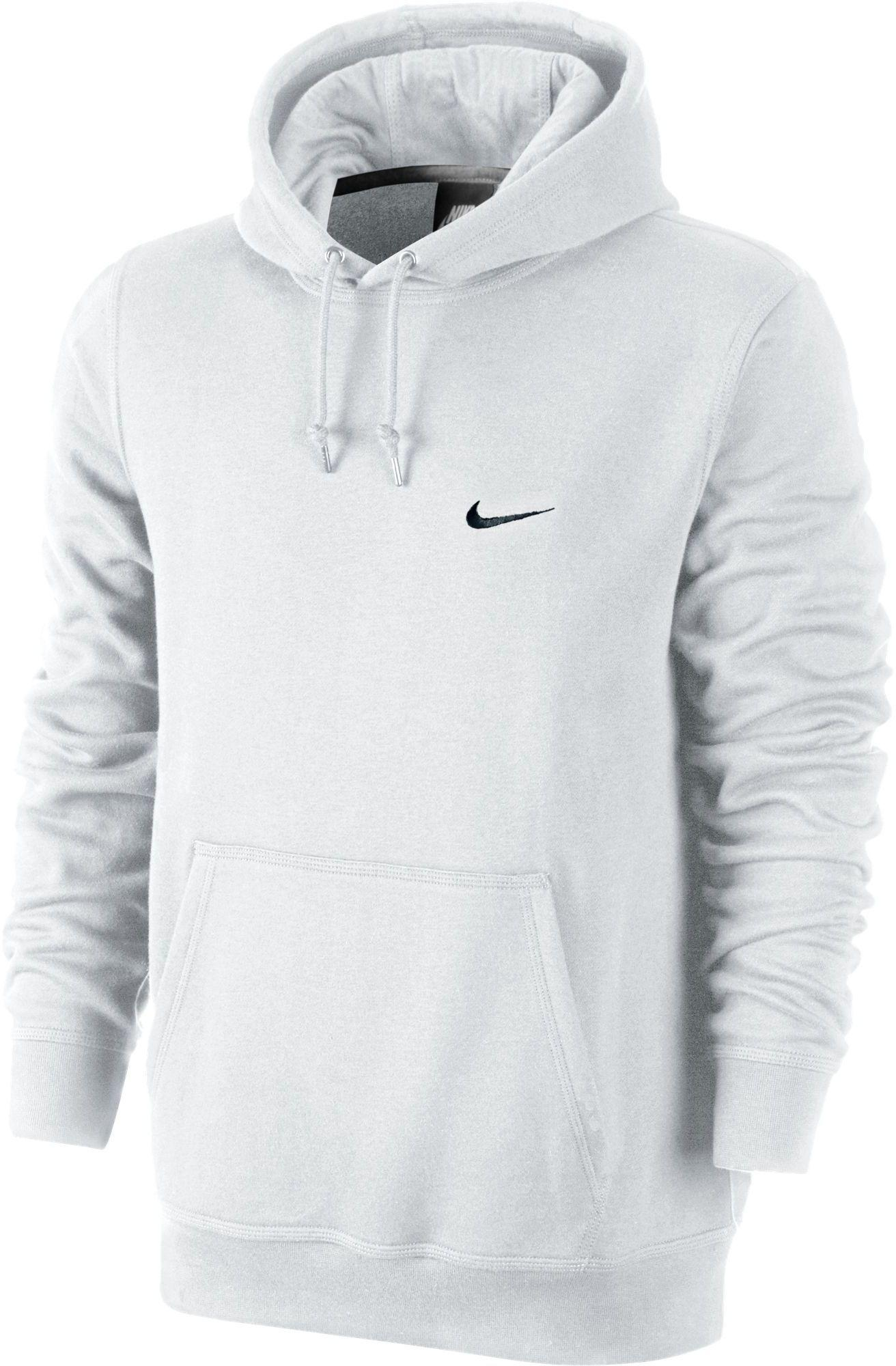 dc800ae5e Nike Classic Club Fleece Hoodie in White for Men - Lyst