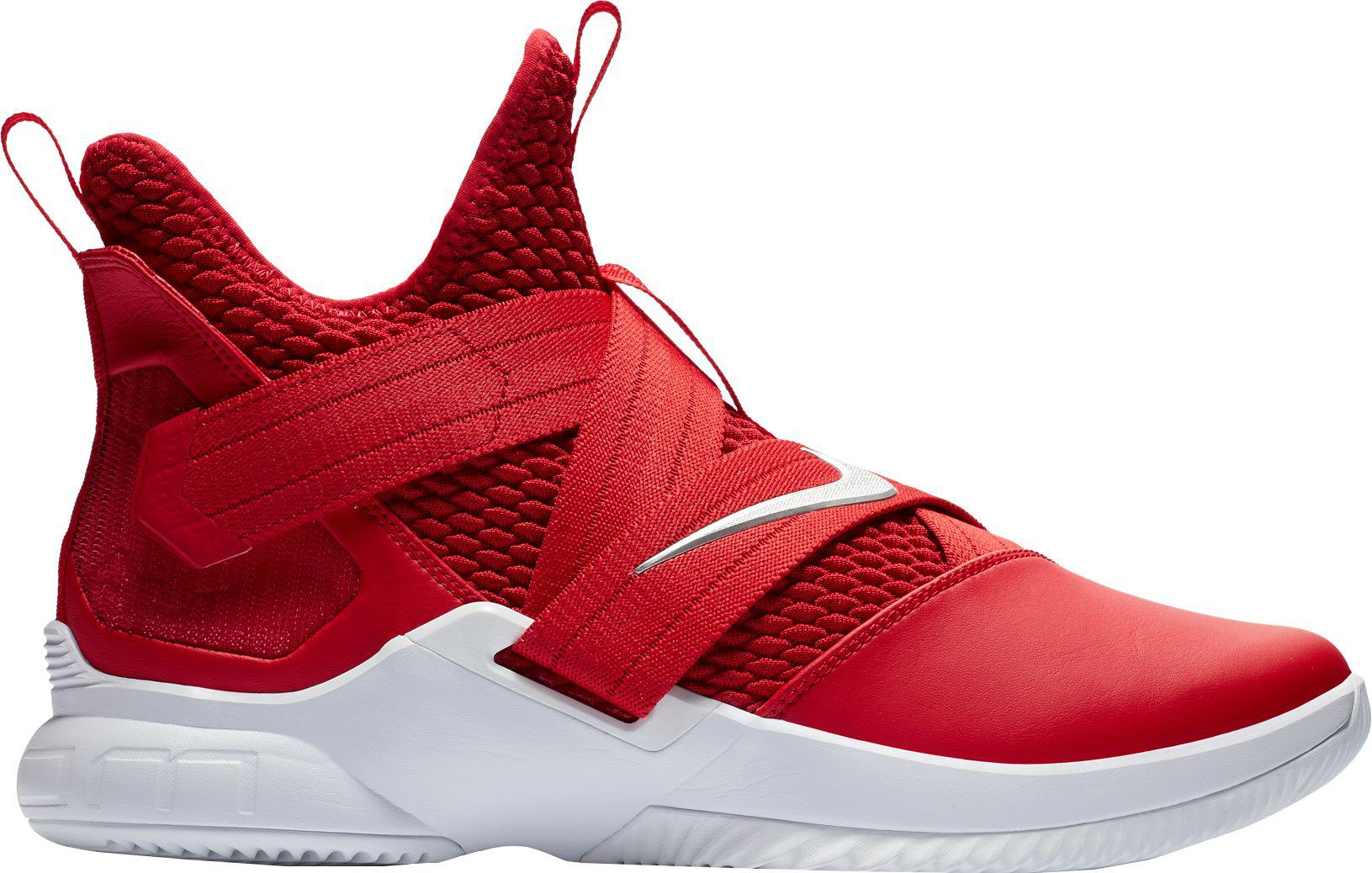 795d91d82f58 Lyst - Nike Zoom Lebron Soldier Xii Tb Basketball Shoes in Red for Men