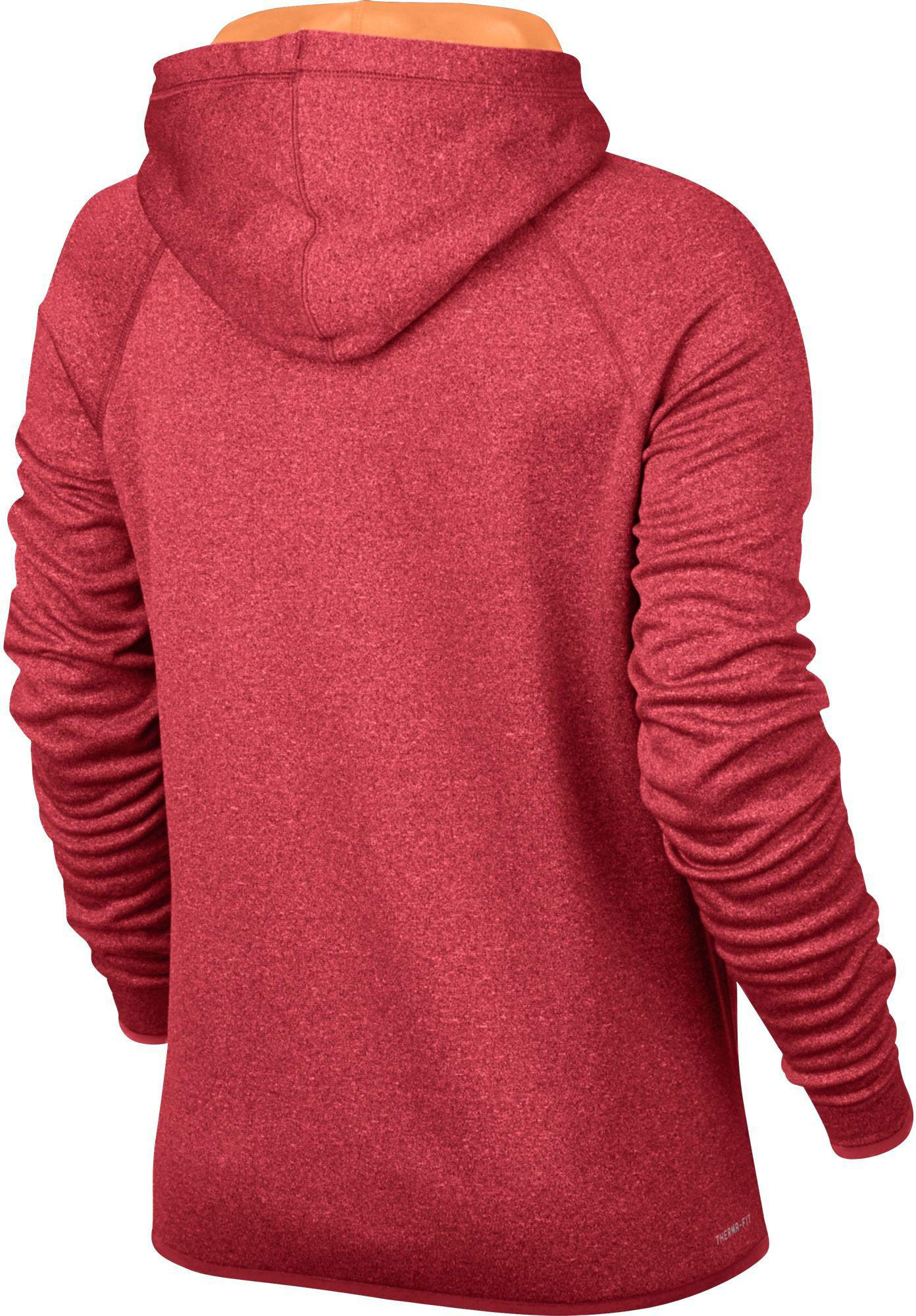 39a1b71007b7 Lyst - Nike Therma All Time Graphic Hoodie in Red