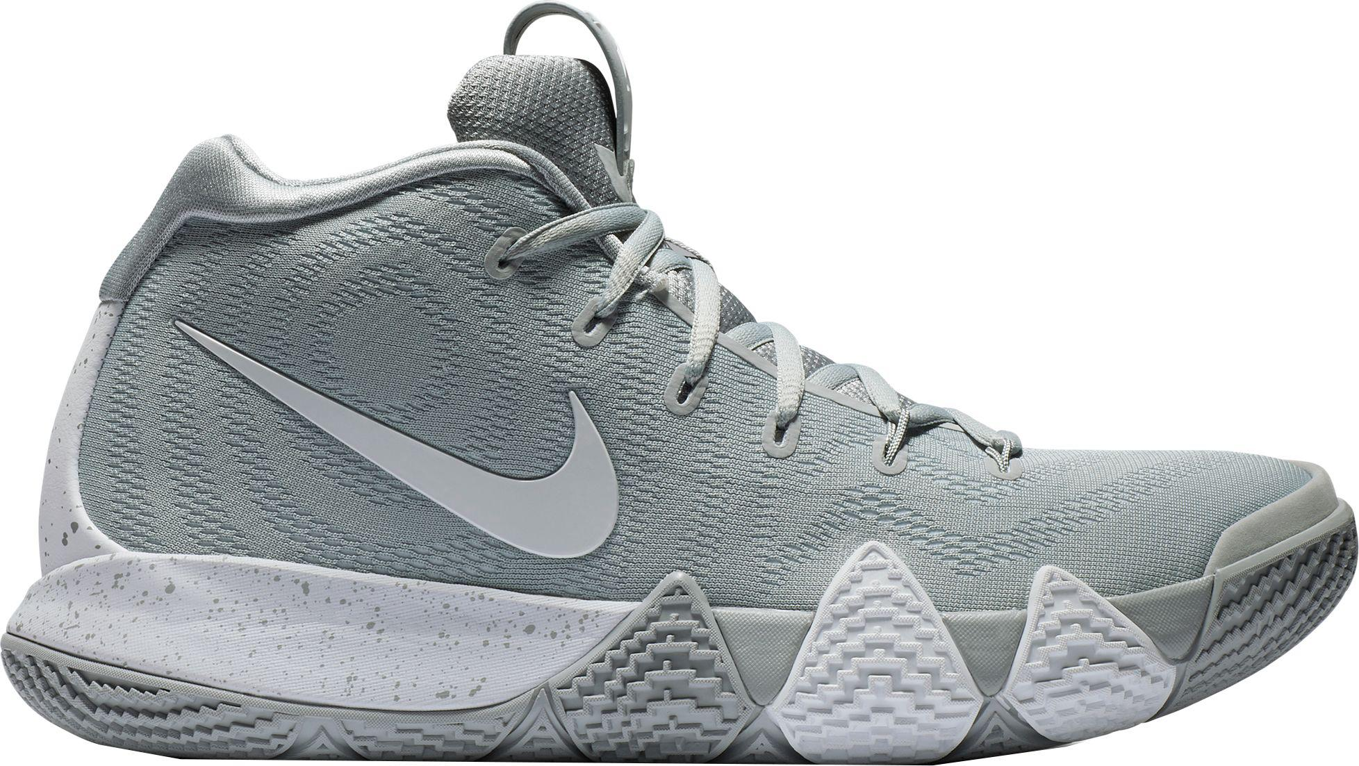 ea8f35cff2b ... wholesale nike. mens gray kyrie 4 tb basketball shoes. 120 from dicks  sporting goods