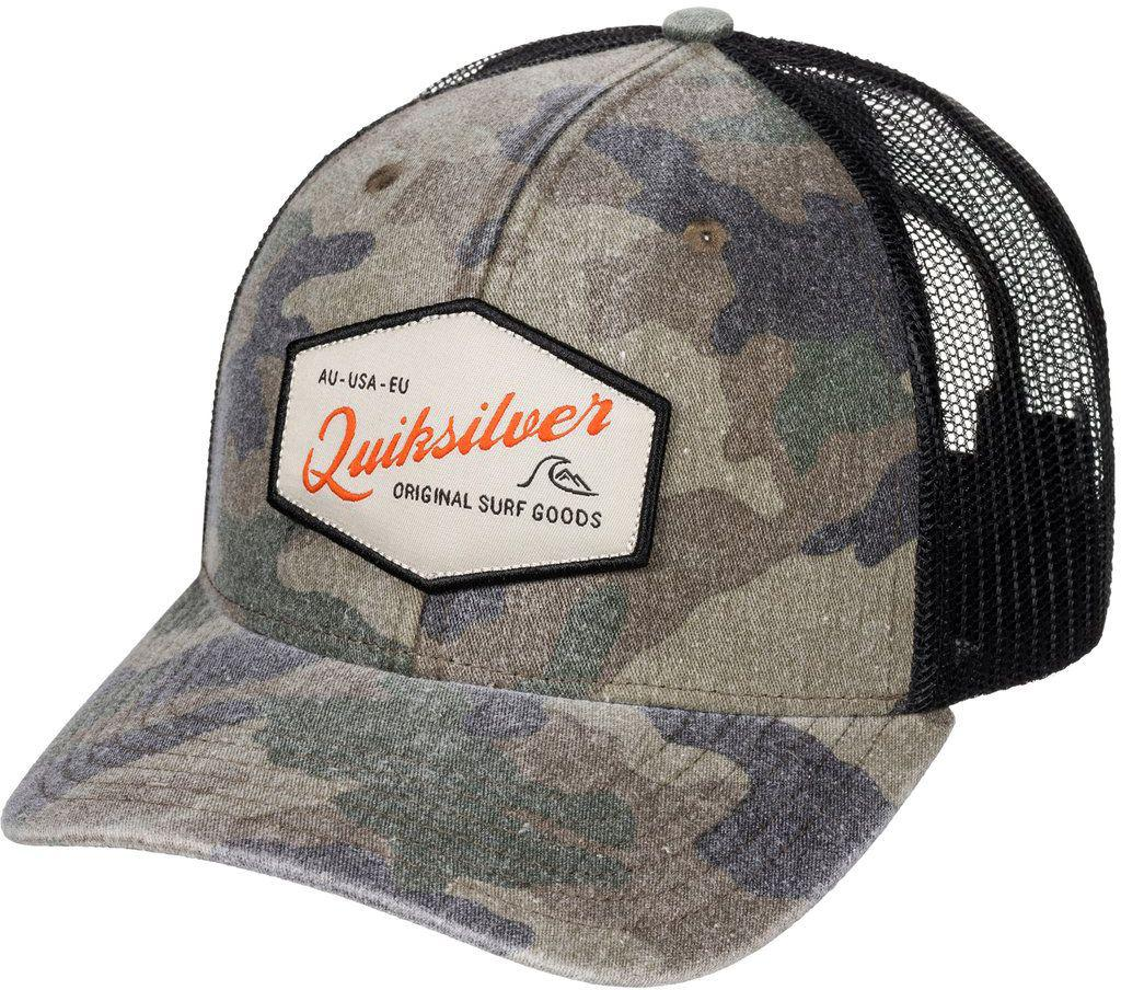 0fa96eda9e4f8c Lyst - Quiksilver Setstearn Trucker Hat for Men