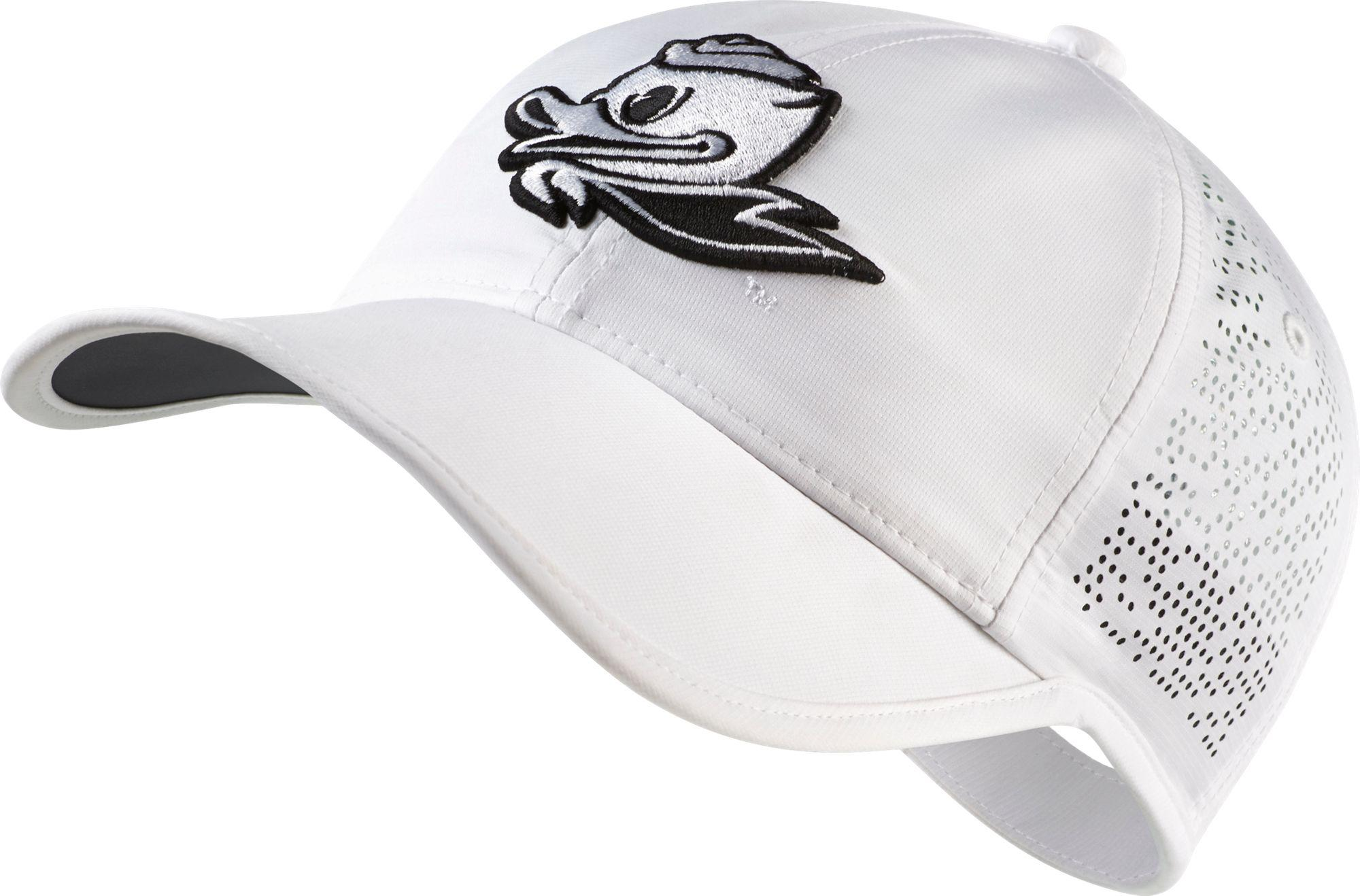 Lyst - Nike Oregon Ducks Perforated Golf Hat in White for Men 8ca9c308652