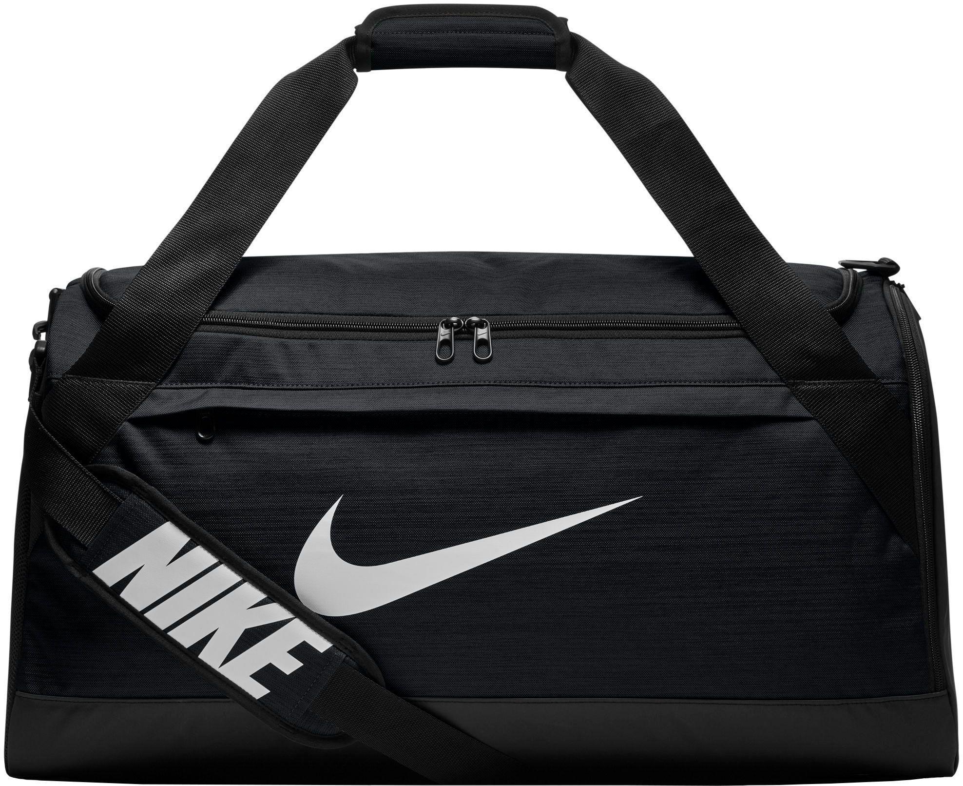 Lyst - Nike Rasilia Medium Training Duffle Bag in Black for Men 0e8ed7ef42fc1