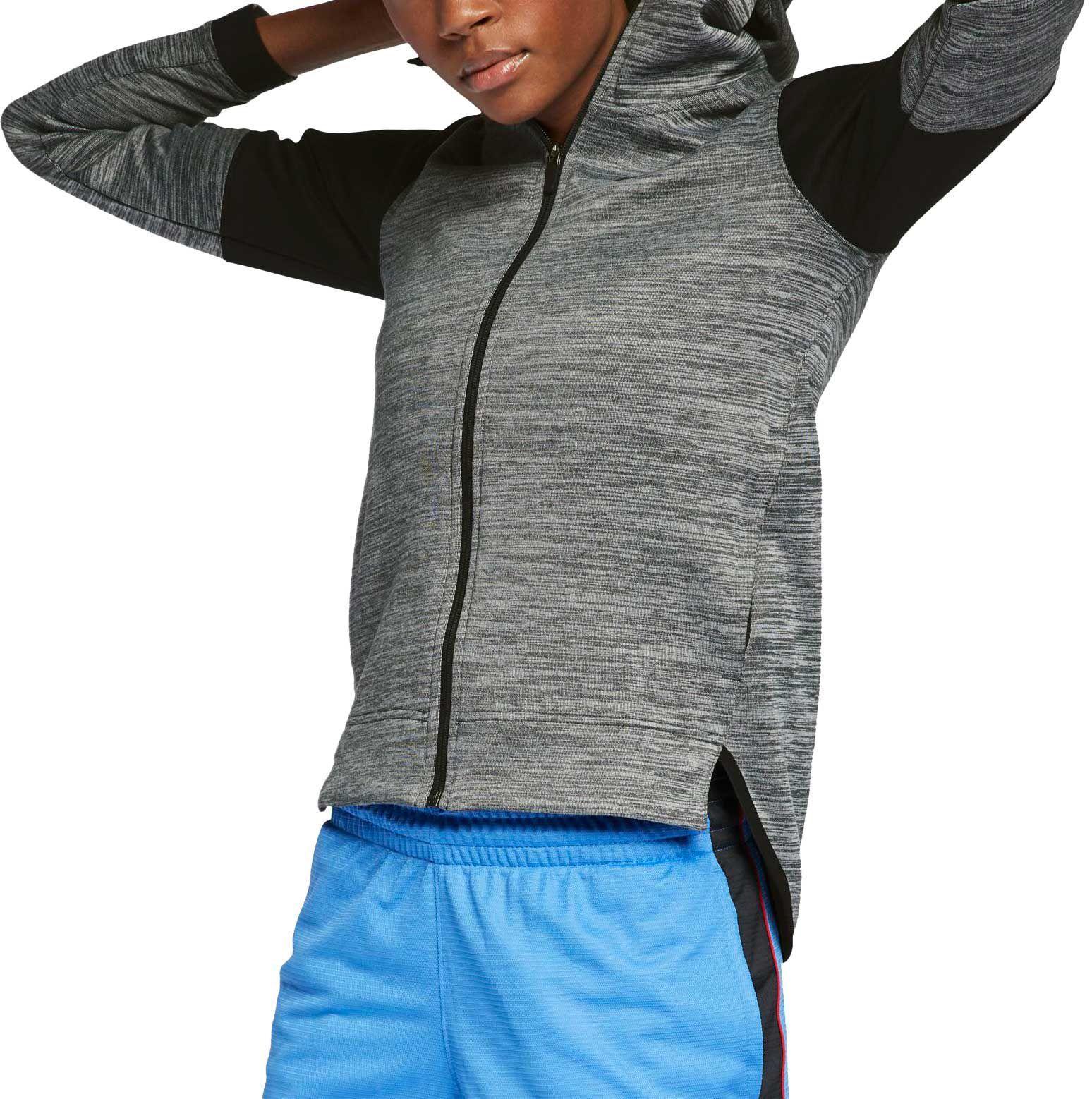 cheaper 12b99 35c97 Nike. Women s Gray Spotlight Full-zip Basketball Hoodie.  90  68 From Dick s  Sporting Goods