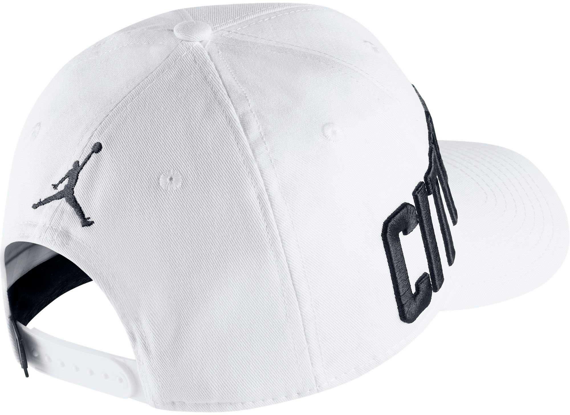 c05472e0be3 Lyst - Nike Jumpman Classic99 City Of Flight Snap Back Hat in White ...