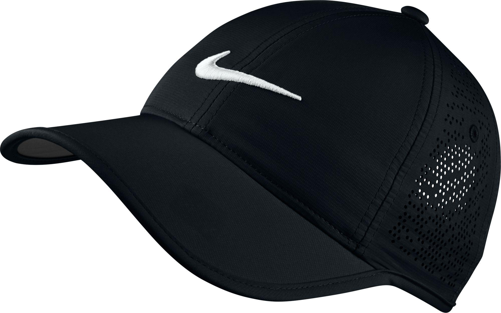 444dfea2c9c Lyst - Nike Perforated Golf Hat in Black