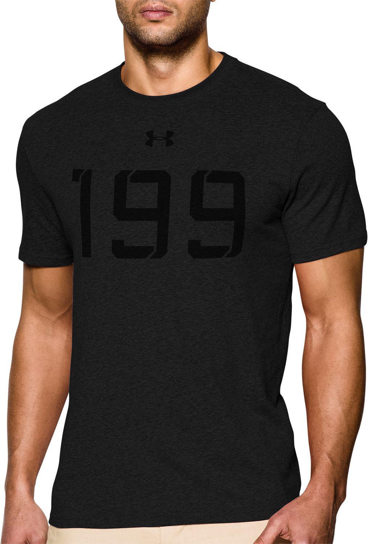 b4039dd4 Under Armour Tb12 Draft 199 Football T-shirt in Black for Men - Lyst