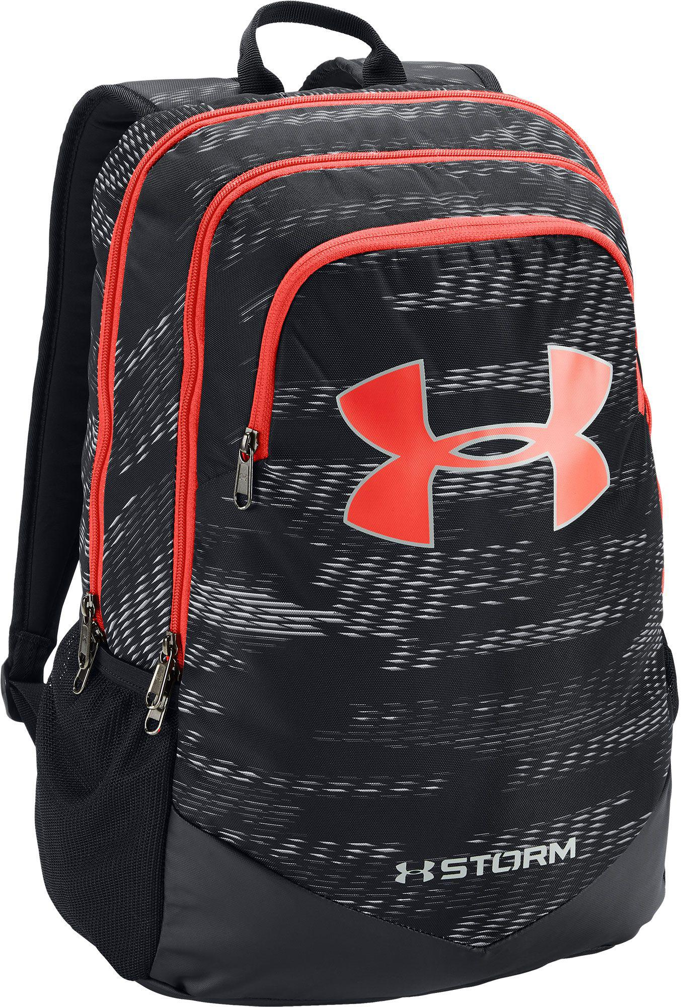 481c5a986298 Lyst - Under Armour Youth Scrimmage Backpack in Black for Men