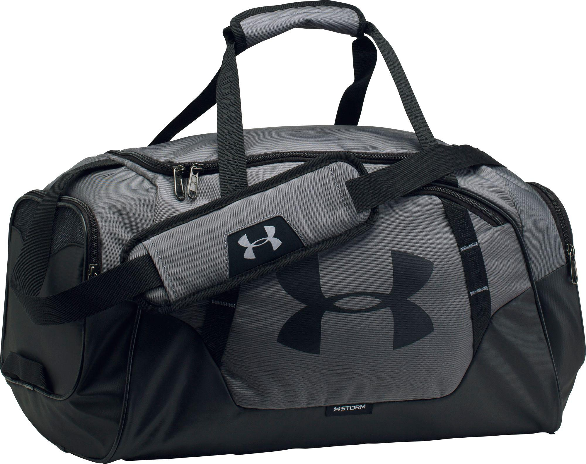 Lyst - Under Armour Undeniable 3.0 Small Duffle Bag in Black for Men ... b8afa7bed8f06