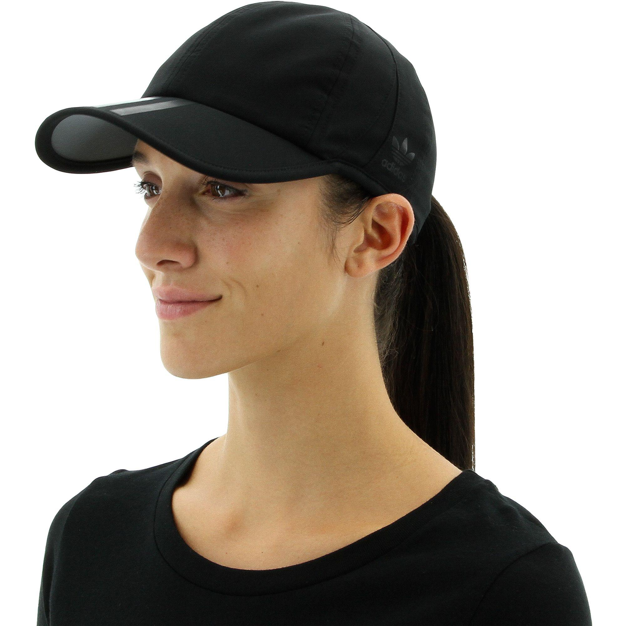 Lyst - adidas 3-stripes Trainer Hat in Black 0f4ea8d7e92