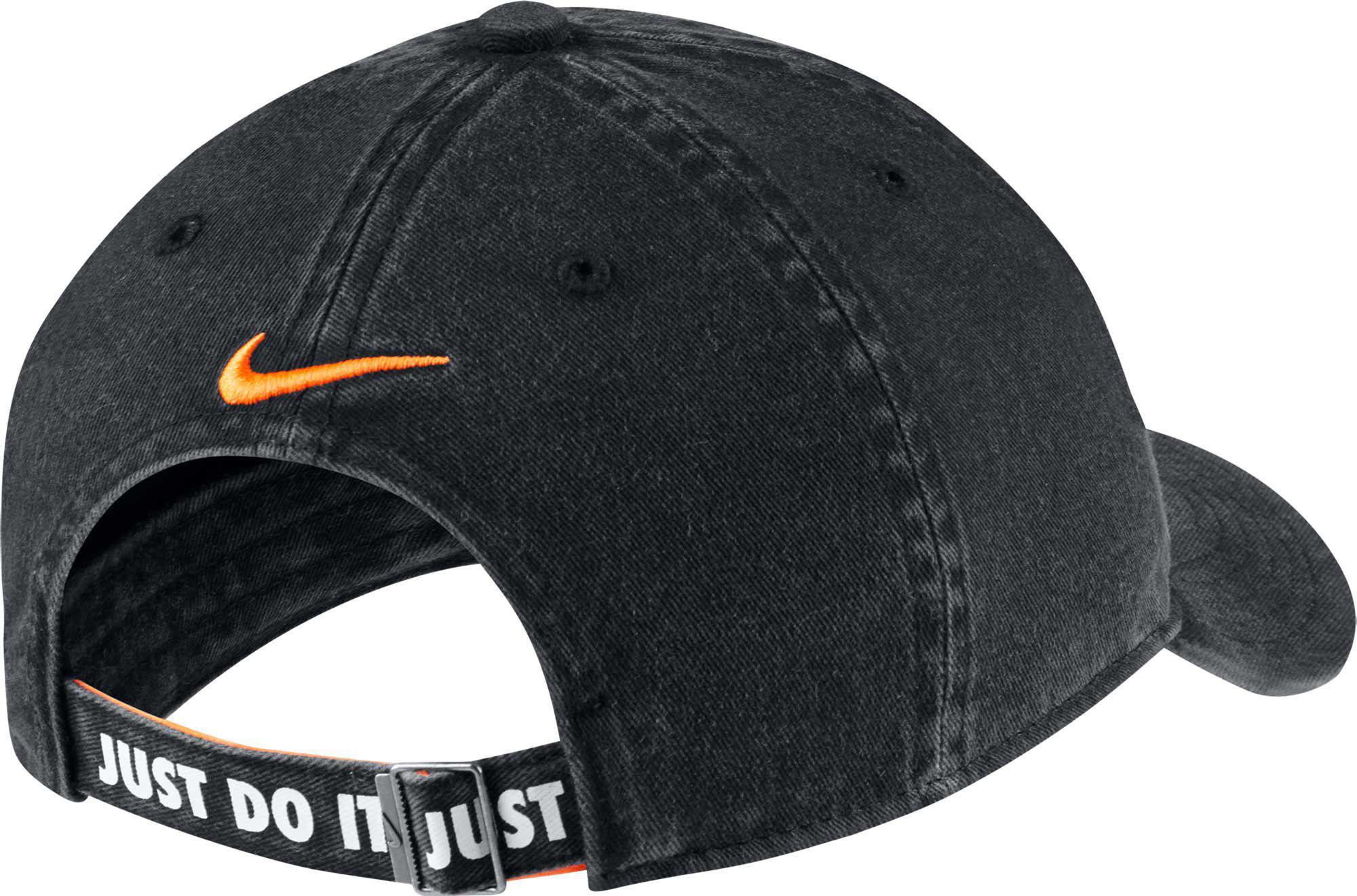 2da3b9f45dc Nike - Black Oys  Heritage86 Shoebox Adjustable Hat for Men - Lyst. View  fullscreen