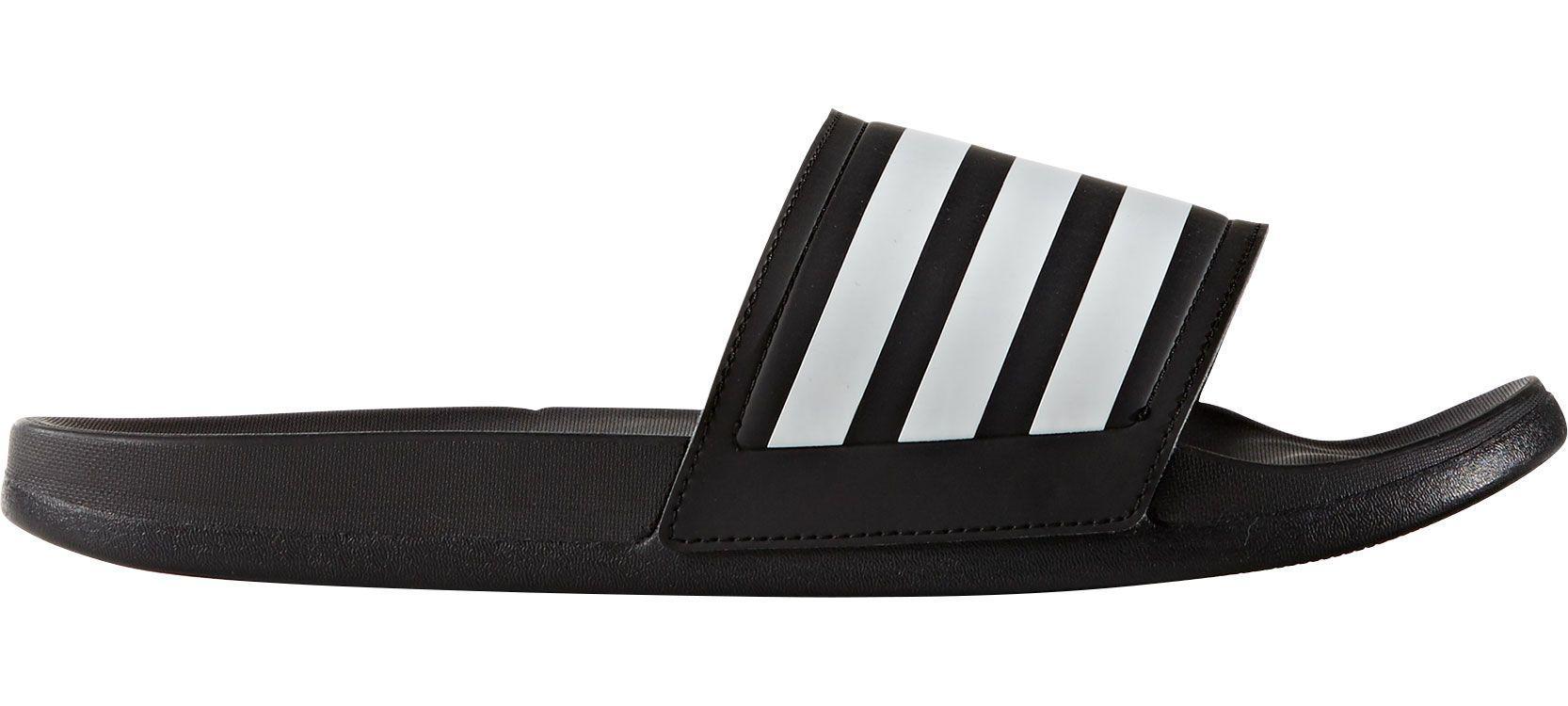 1b0d822cec4621 Lyst - Adidas Adilette Ultra Slides in Black for Men - Save ...