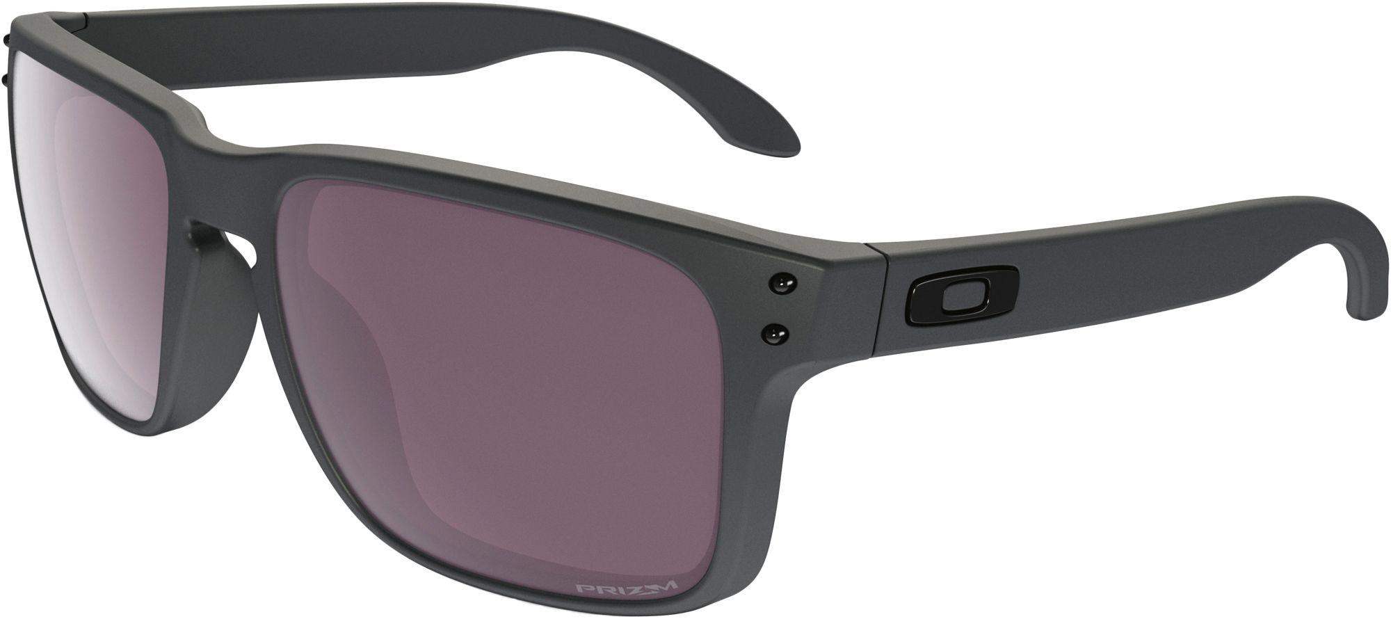afac1d63096d6 Oakley - Gray Holbrook Prizm Daily Polarized Steel Collection Sunglasses  for Men - Lyst. View fullscreen