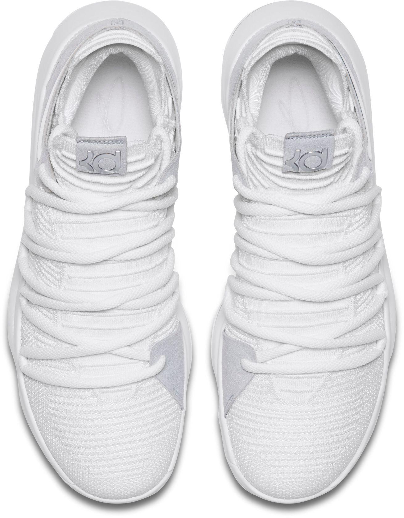 Nike - White Zoom Kd 10 Basketball Shoes for Men - Lyst