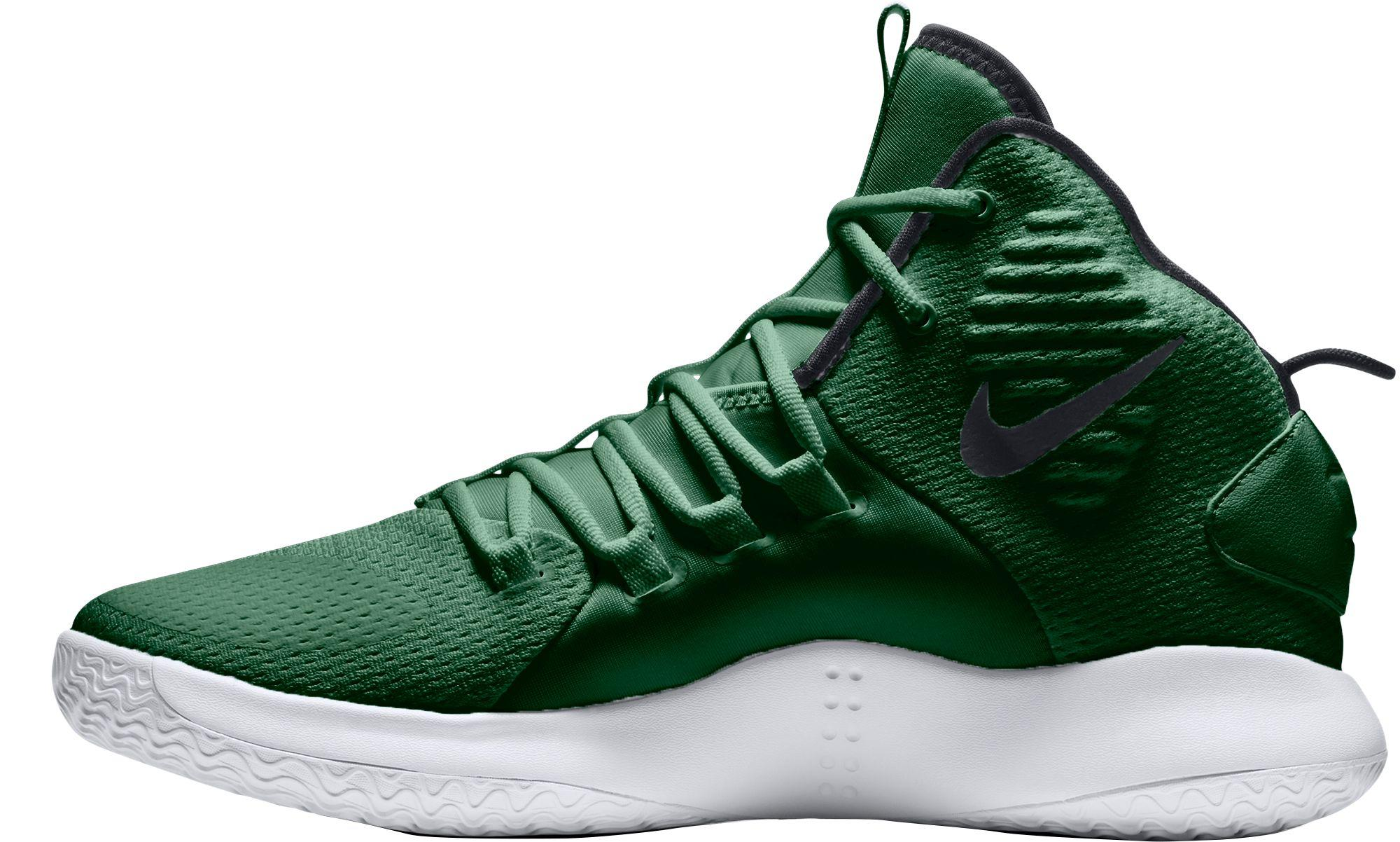 64d640fef884 Nike Hyperdunk X Mid Tb Basketball Shoes in Green for Men - Lyst