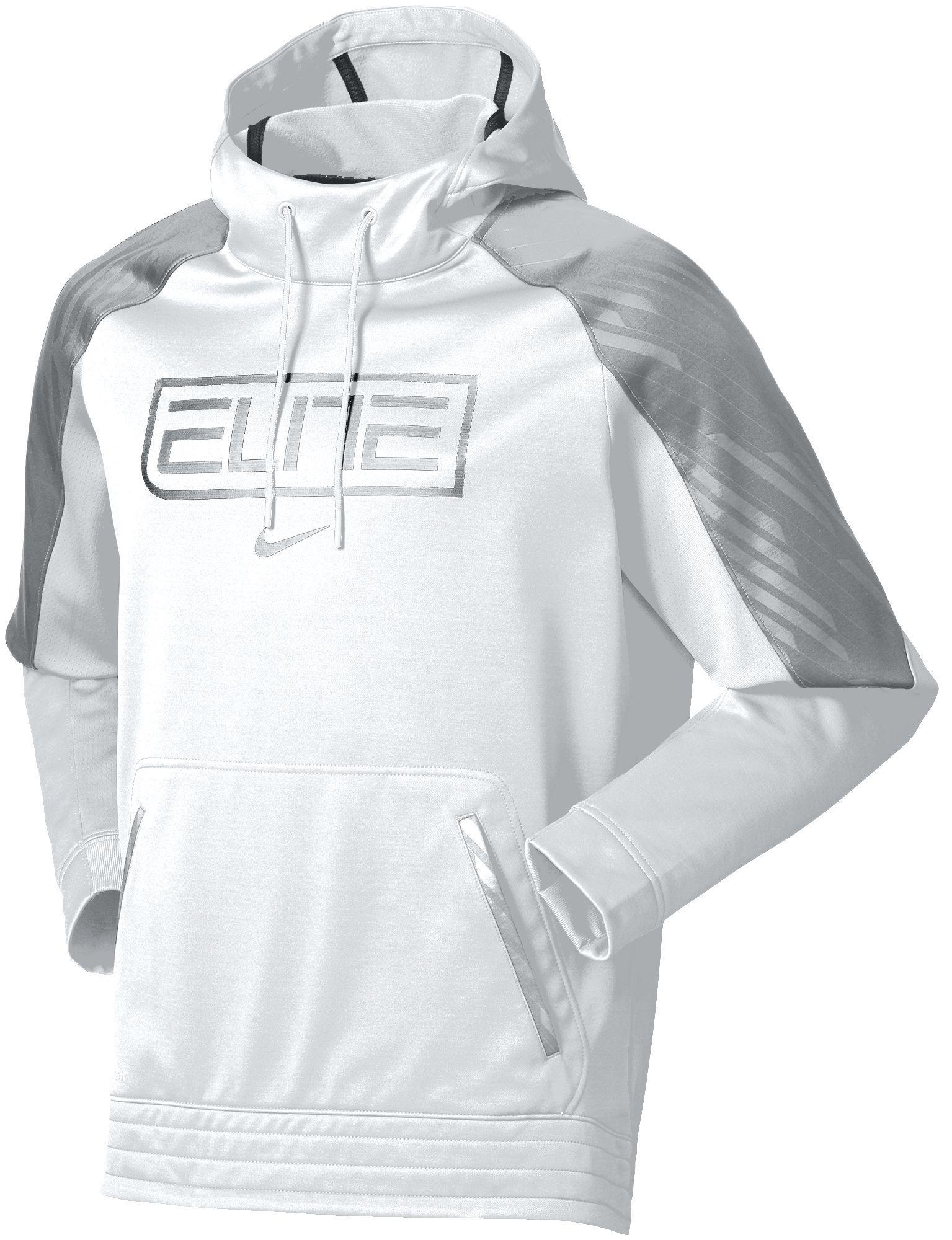 3166ff9fe7fe Lyst - Nike Elite Basketball Hoodie in White for Men