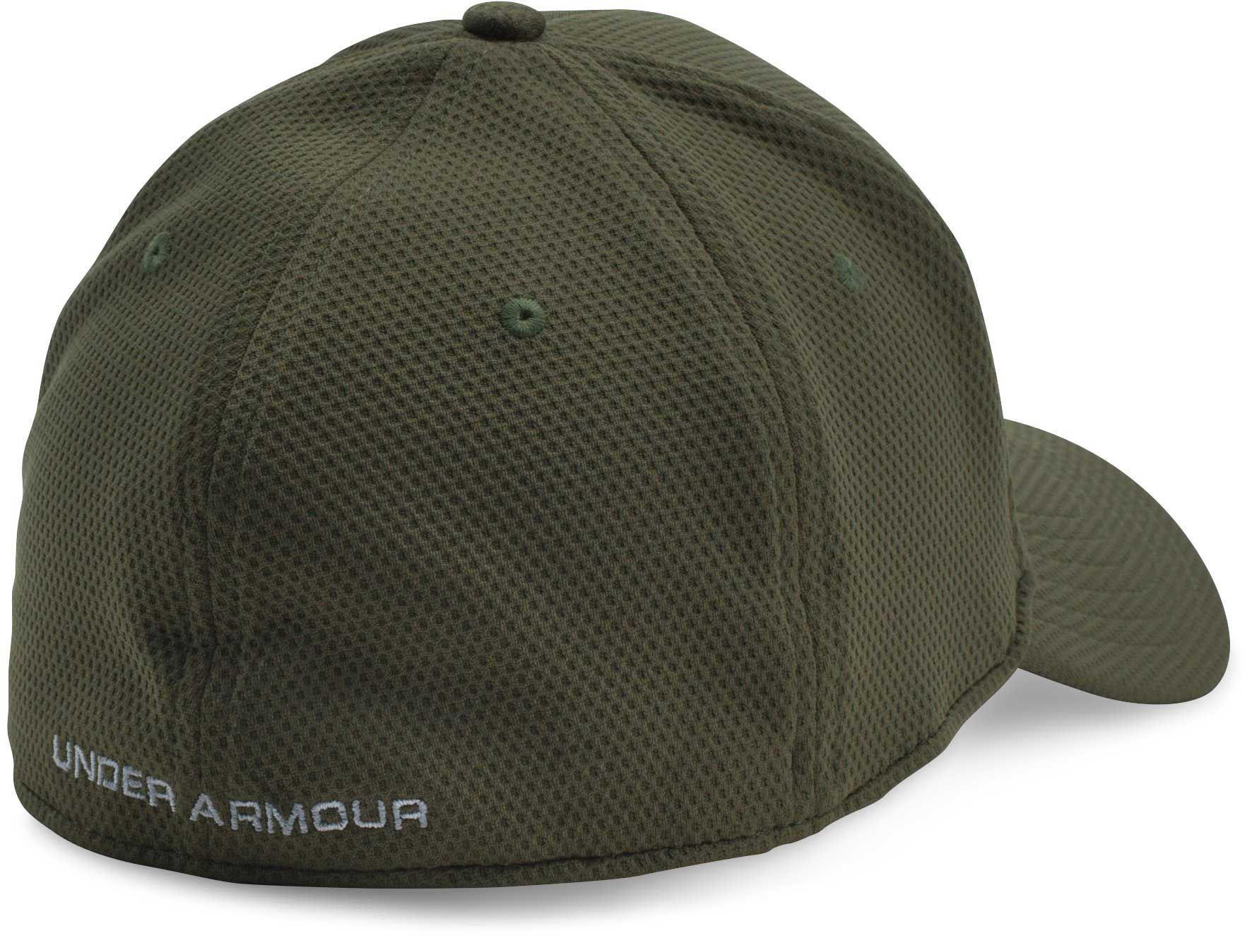 Under Armour - Green Men s Ua Blitzing Ii Stretch Fit Cap for Men - Lyst cf6ff48f6f8