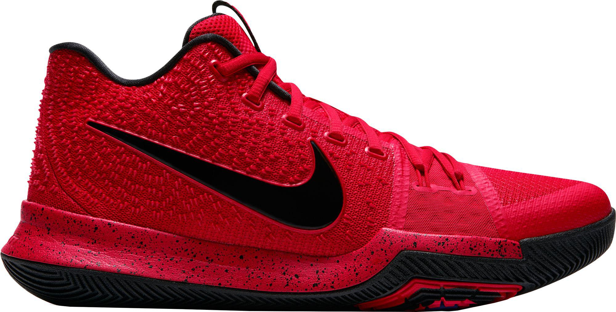 2b1fbf145a8e Lyst - Nike Kyrie 3 Basketball Shoes in Red for Men