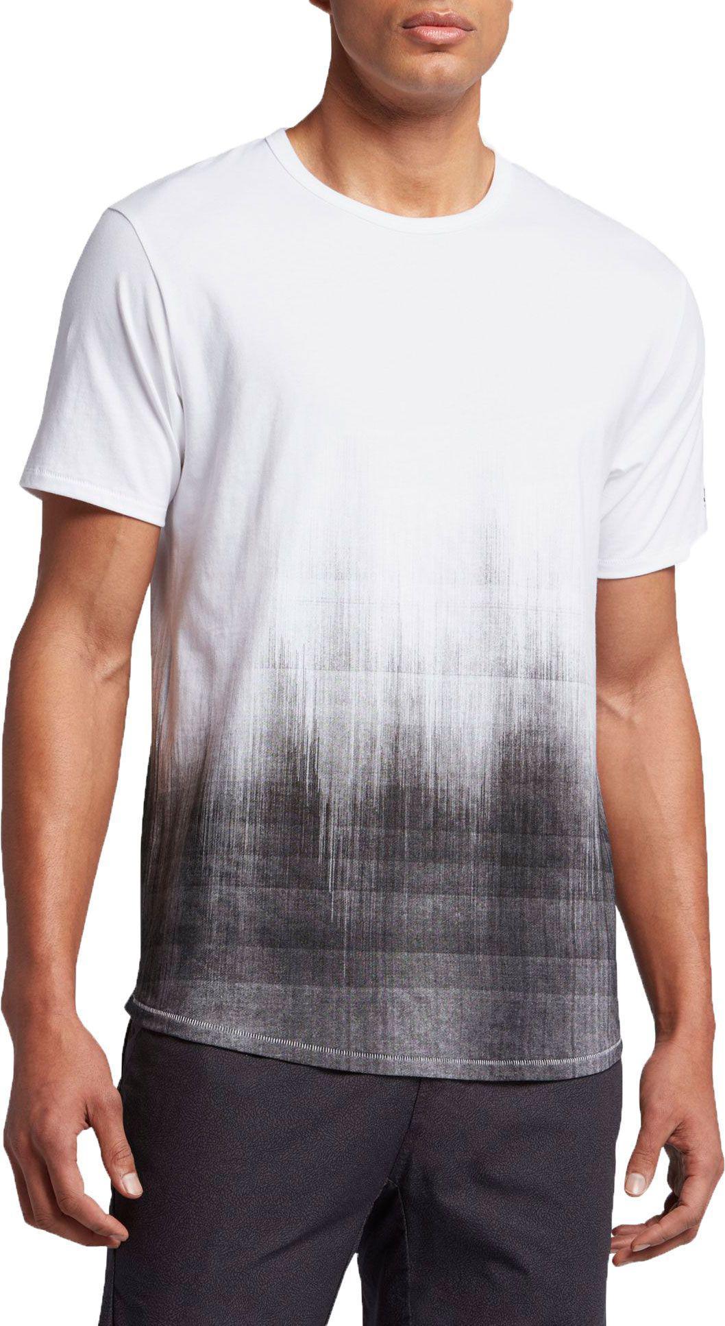 Jordan Dry Scorch Men's T-Shirts White/Black