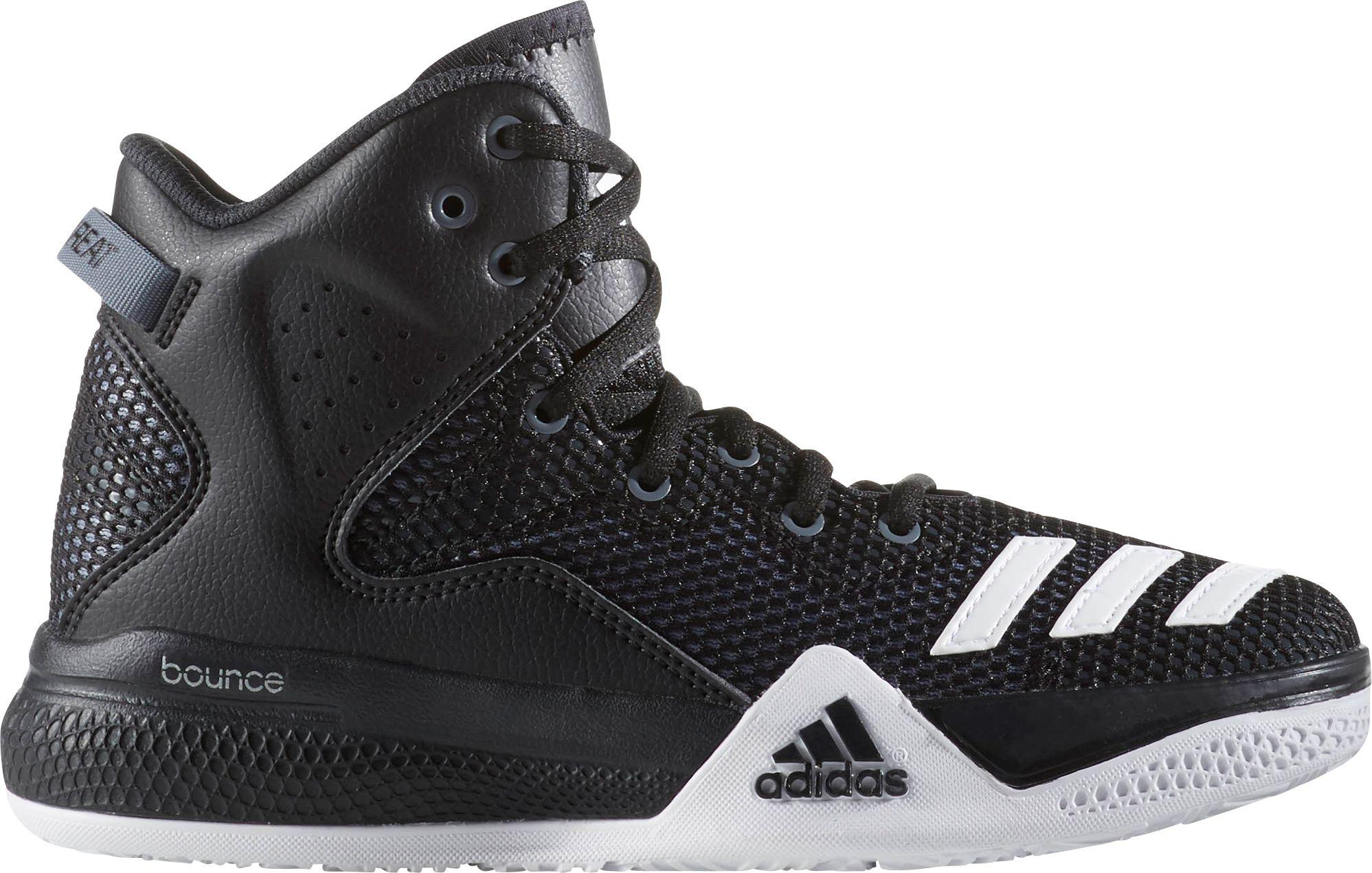 low priced 6f6c2 a9daf Lyst - adidas Dual Threat Basketball Shoes in Black for Men