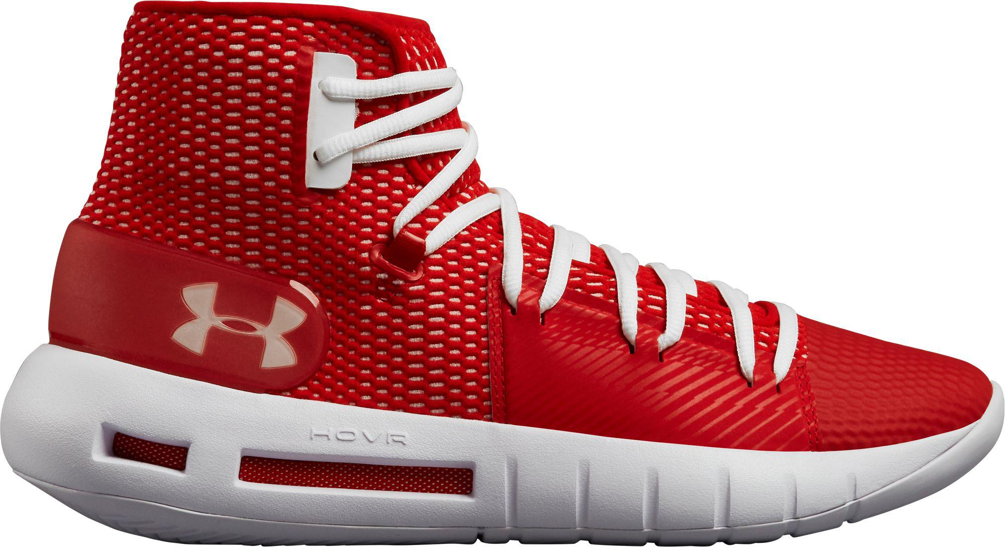 b072bf580b4 Lyst Under Armour Hovr Havoc Basketball Shoes In Red For Men