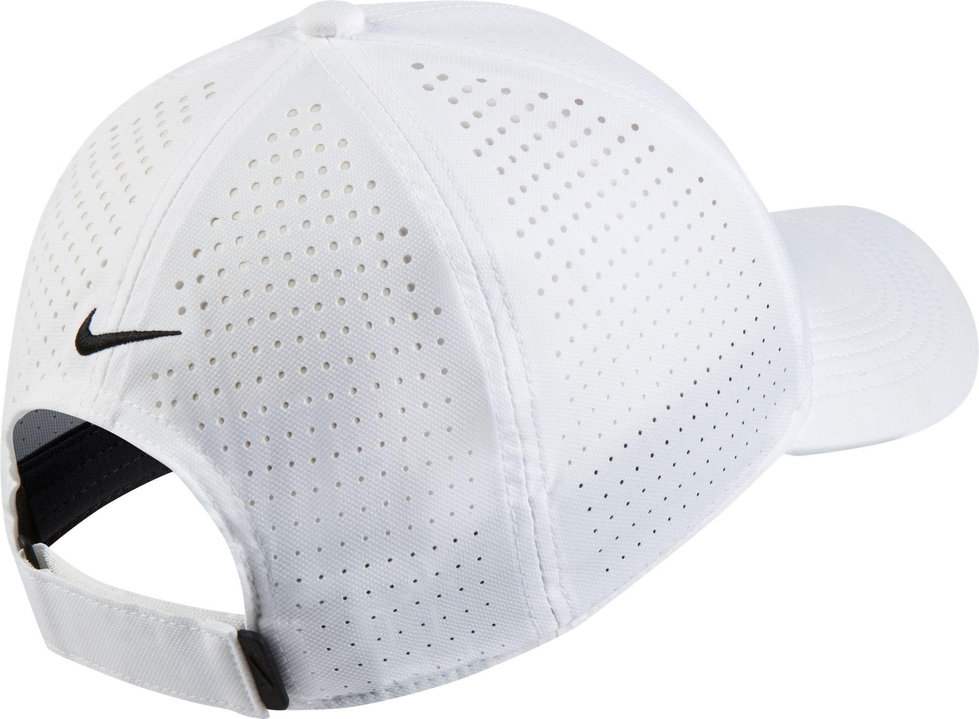 Nike - White Aerobill Legacy91 Perforated Golf Hat for Men - Lyst. View  fullscreen f5e9110e7d3