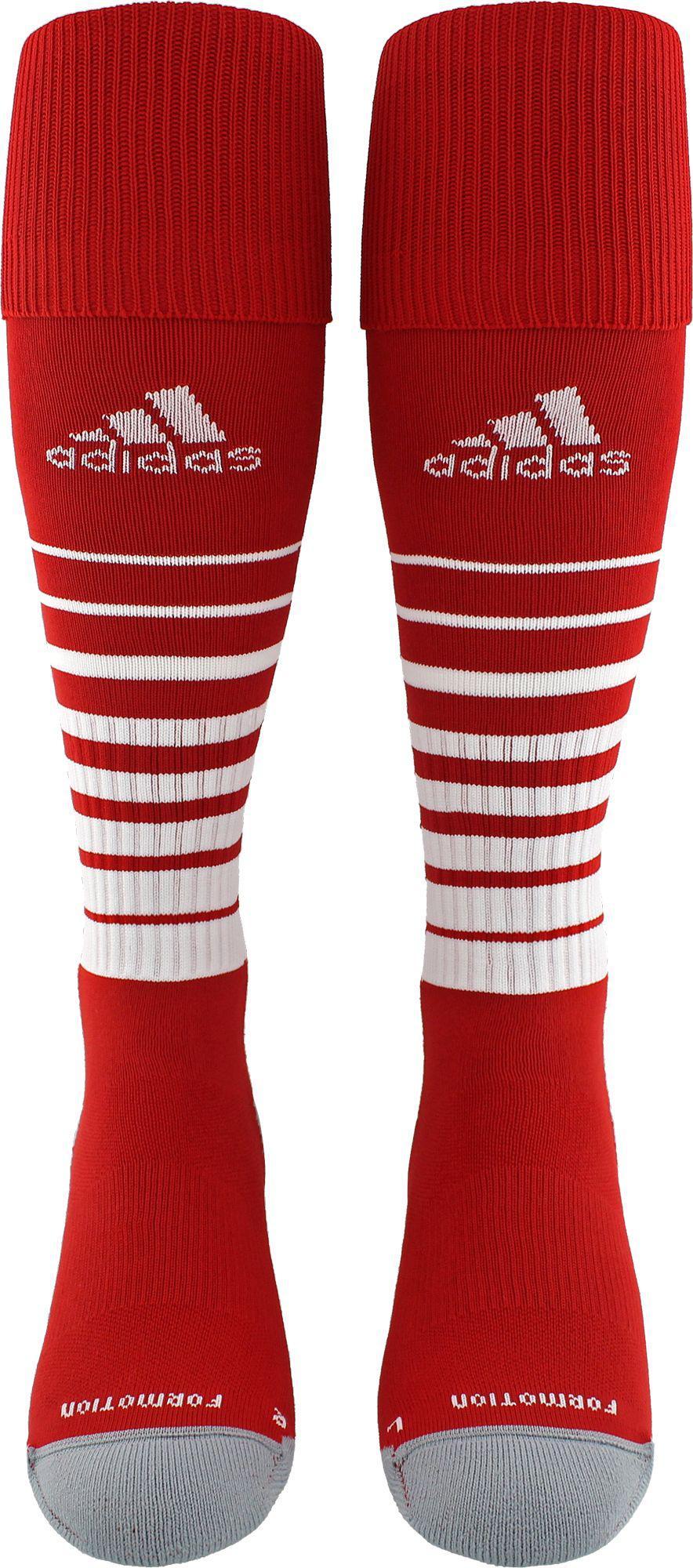 b3fcb4f8dd80 Lyst - adidas Team Speed Soccer Socks in Red for Men