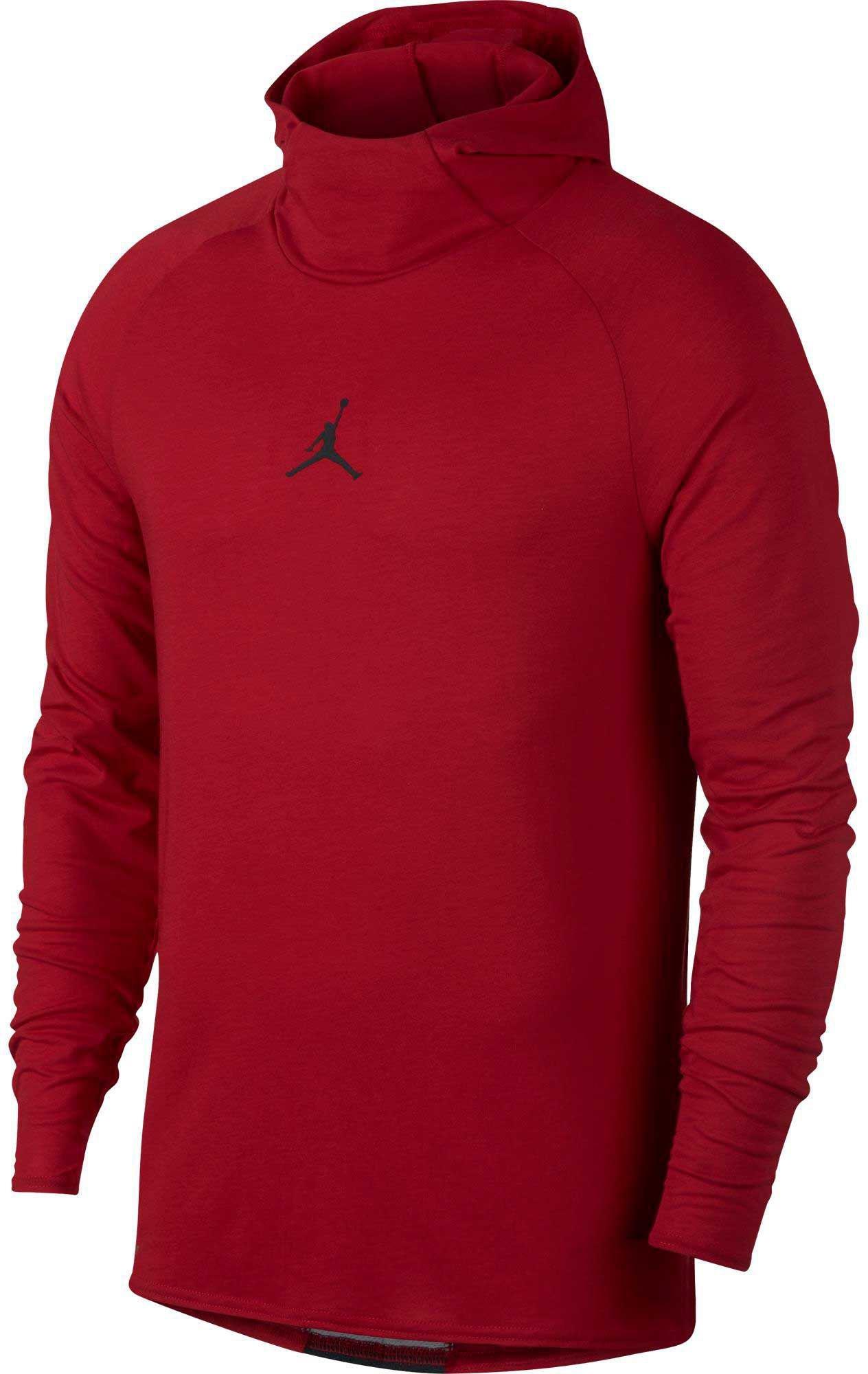 2985d217 Nike Dry 23 Alpha Training Hooded Long Sleeve Shirt in Red for Men ...
