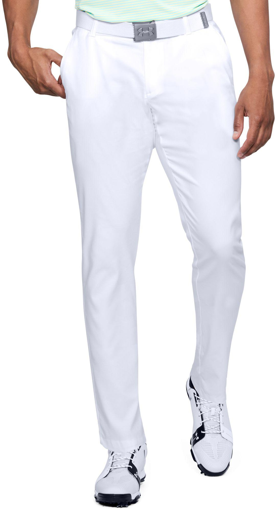 d2d12a9566d93 Under Armour Showdown Tapered Leg Golf Pants in White for Men - Lyst