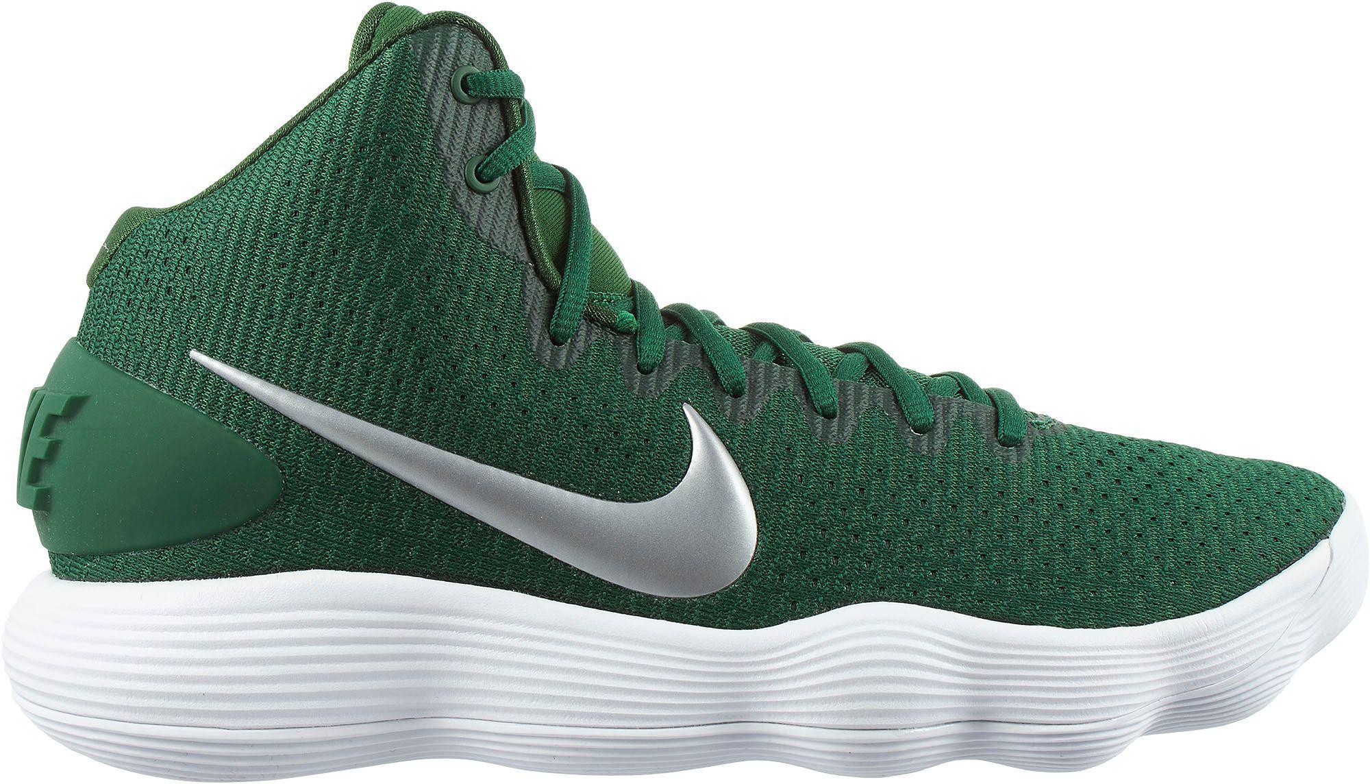 8a31039eab83 Nike React Hyperdunk 2017 Basketball Shoes in Green for Men - Lyst
