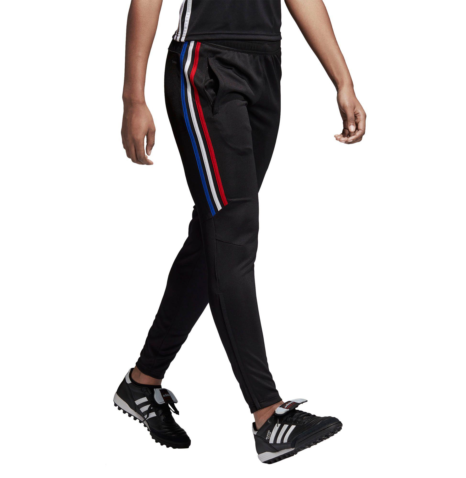 adidas Synthetic Tiro 17 Americana Soccer Training Pants in