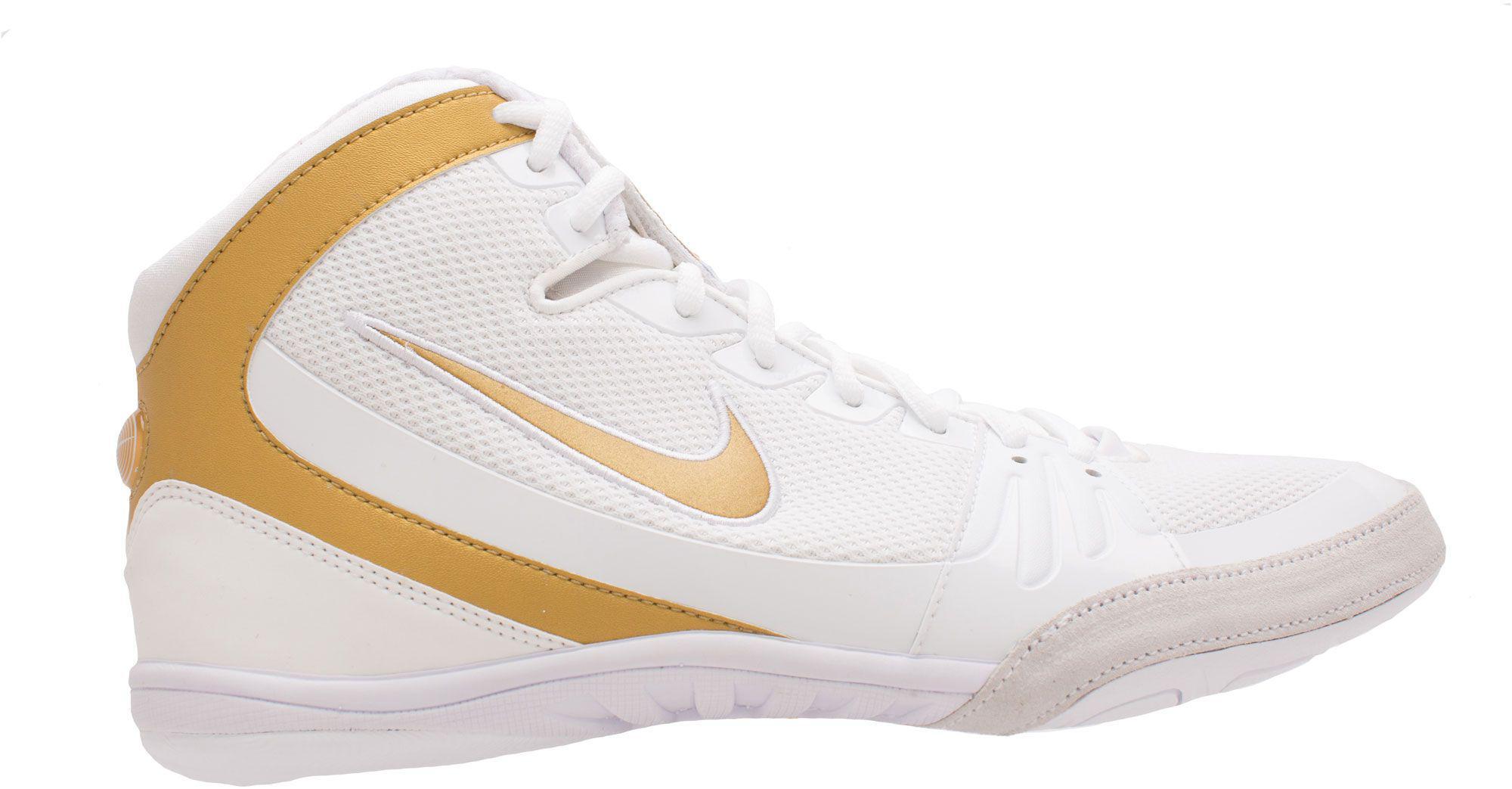 timeless design 519e9 9d54c Lyst - Nike Freek Wrestling Shoes in White for Men