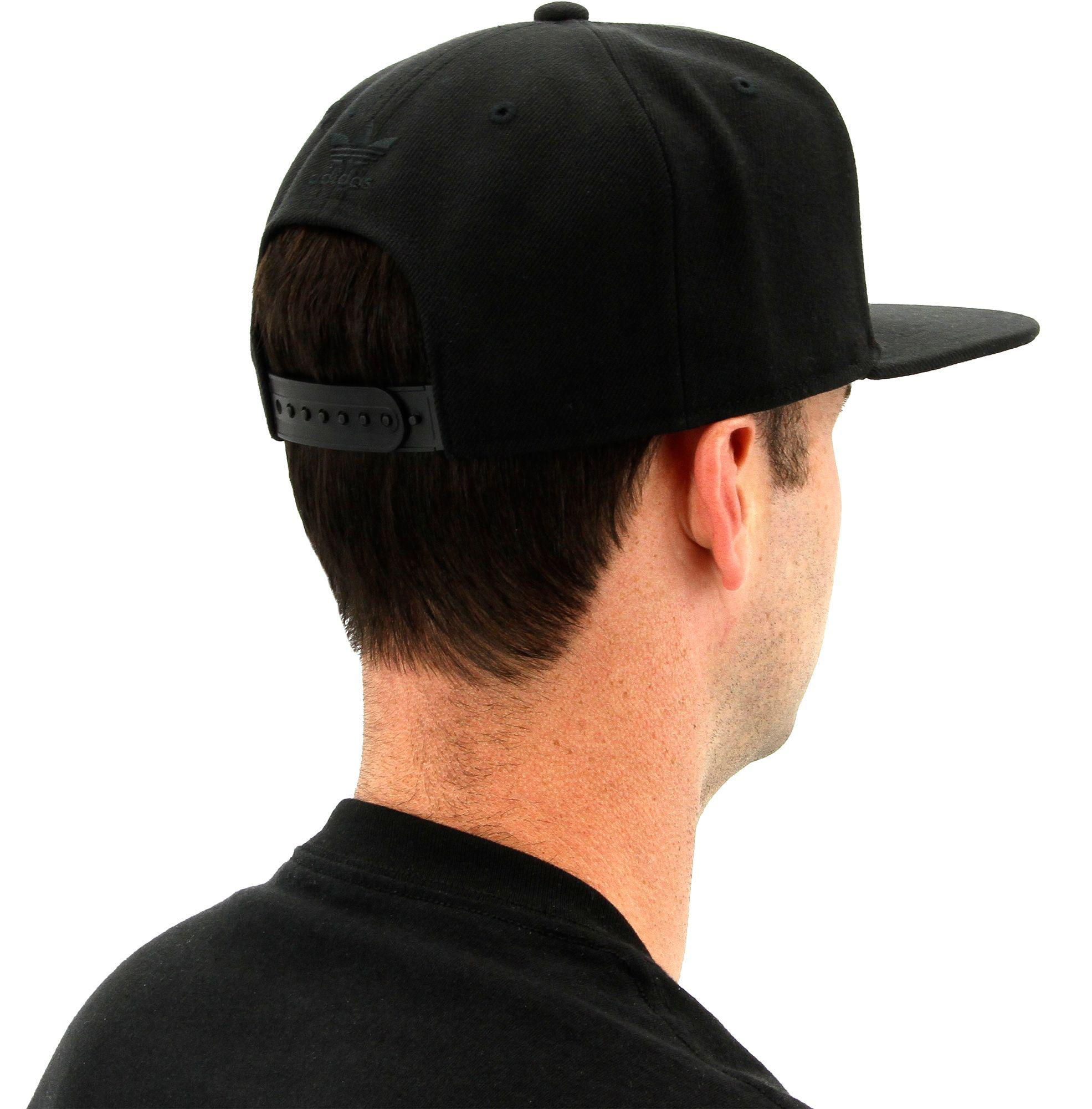 705a9ec085687 adidas Originals Trefoil Chain Snapback Hat in Black for Men - Lyst