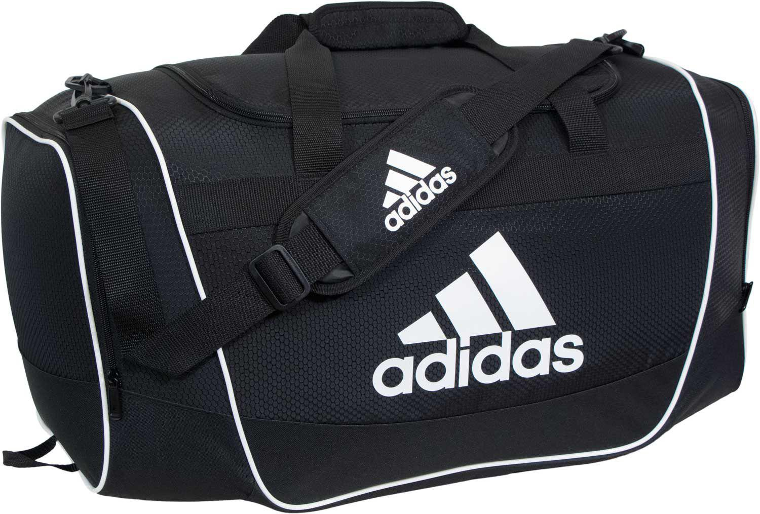 4e5db974239f Adidas - Black Defender Ii Large Duffle Bag for Men - Lyst. View fullscreen