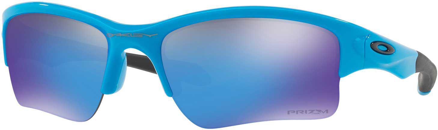 ea343e91eed Lyst - Oakley Youth Quarter Jacket Baseball Sunglasses in Blue