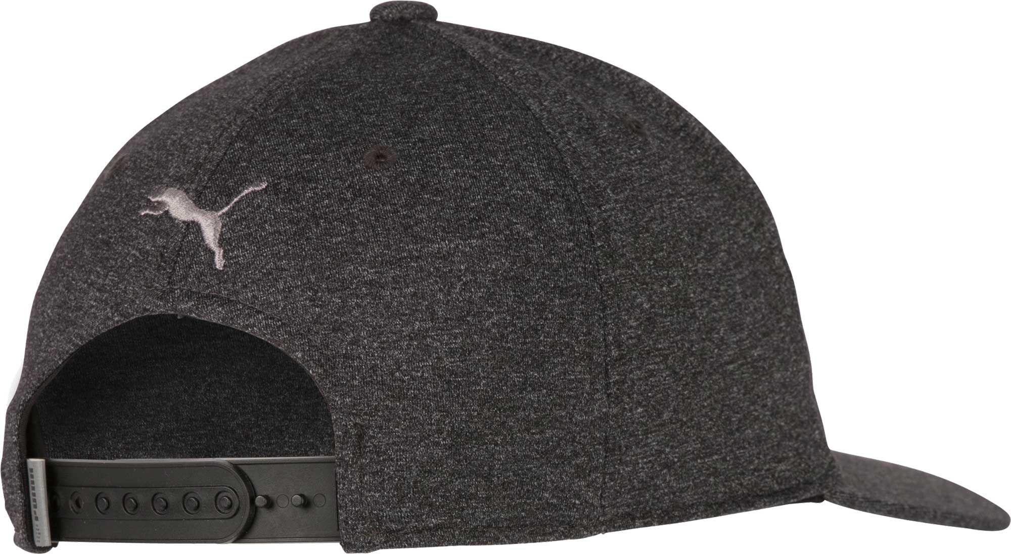 fd5b045742a PUMA - Black P 110 Snapback Golf Hat for Men - Lyst. View fullscreen