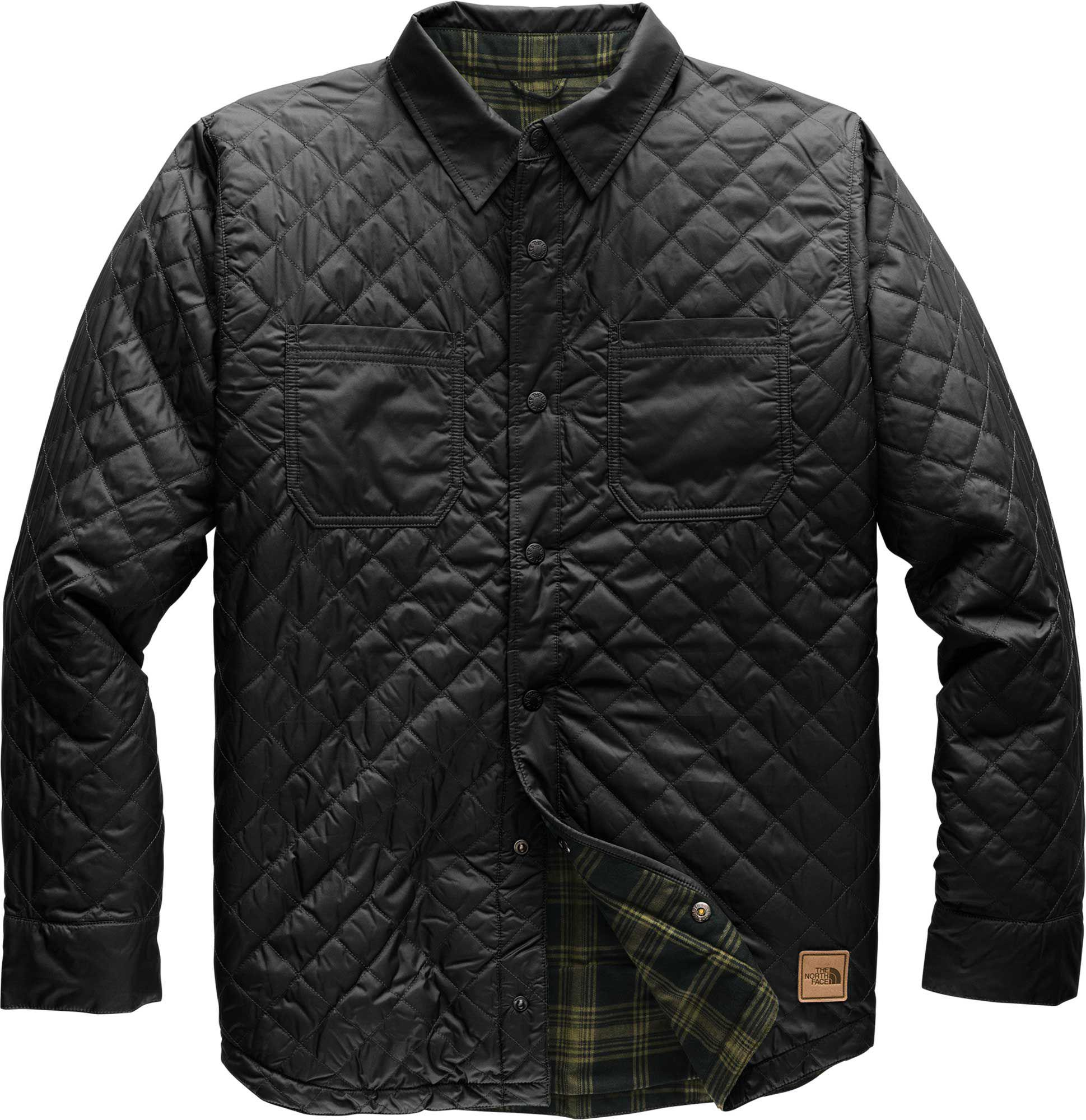 59de7b3c4 The North Face Fort Point Insulated Reversible Flannel in Black for ...