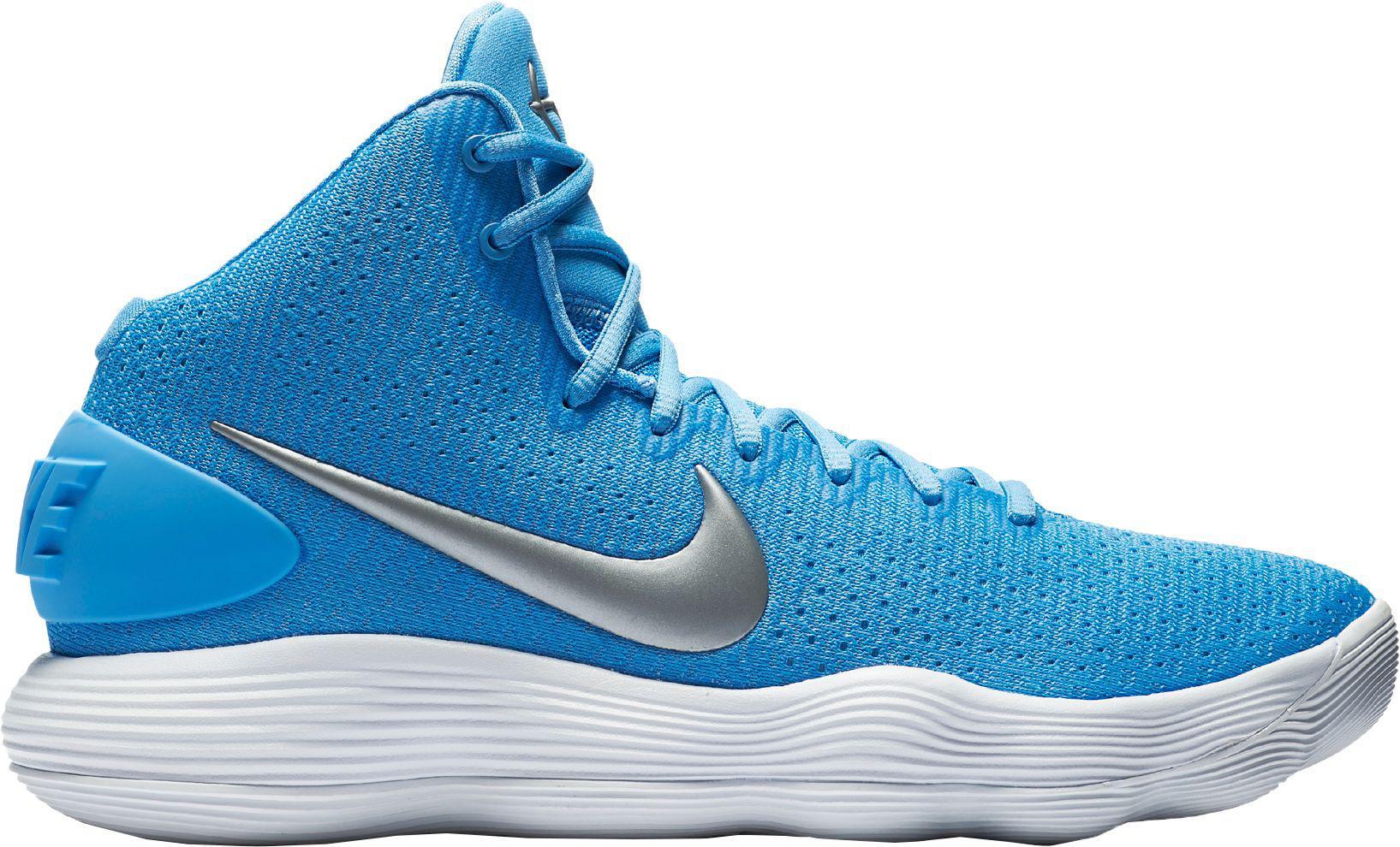 sale retailer 5748e 53c90 Nike - Blue React Hyperdunk 2017 Basketball Shoes for Men - Lyst