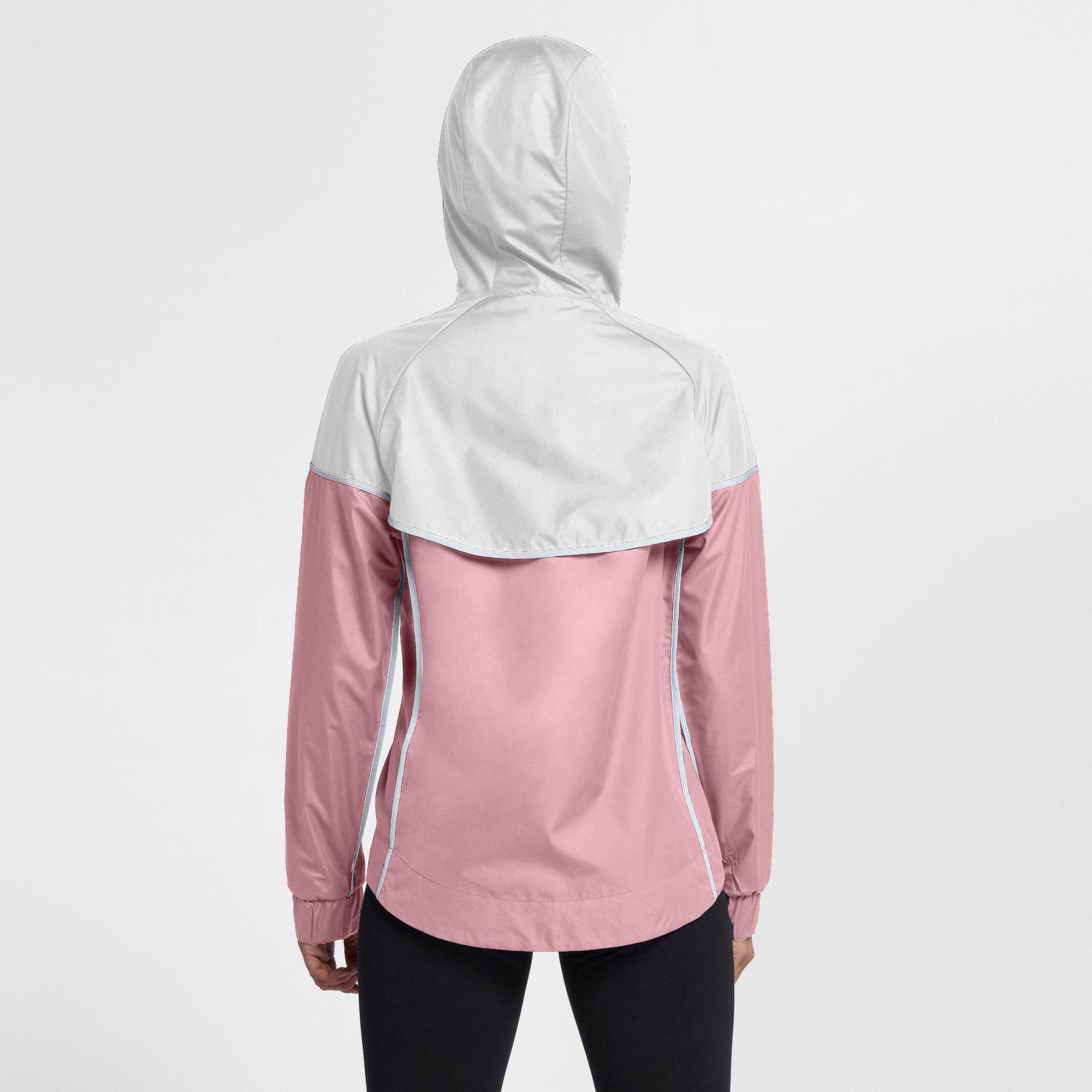 Nike - Pink Sportswear Windrunner Jacket - Lyst. View fullscreen 00bc3b645