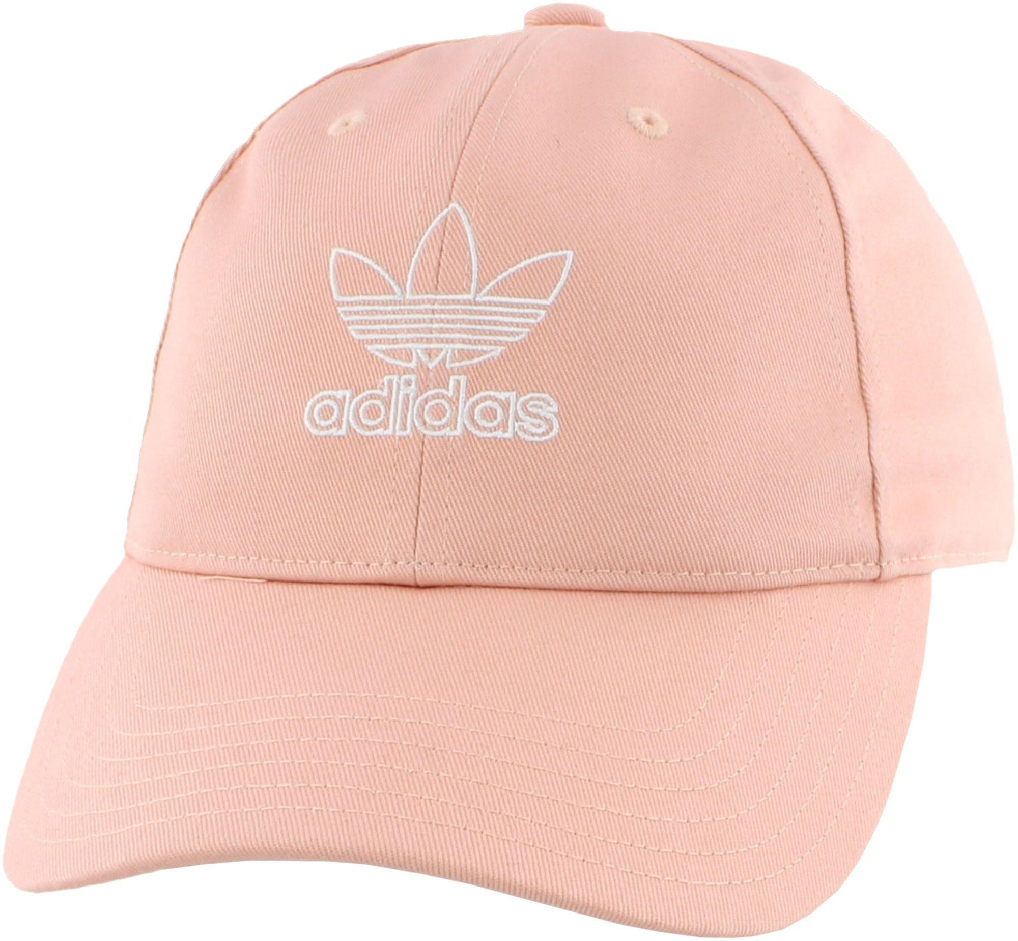 ad1edef30a4c7 Adidas - Pink Originals Relaxed Outline Hat - Lyst. View fullscreen