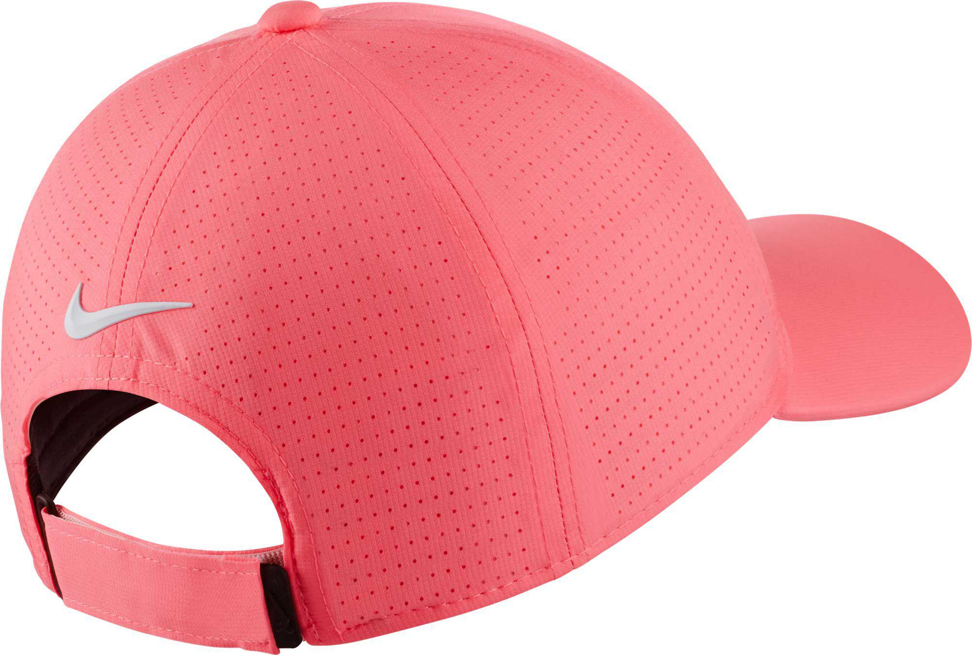 Lyst - Nike 2018 Aerobill Legacy91 Perforated Golf Hat in Pink 2547a98b7a0