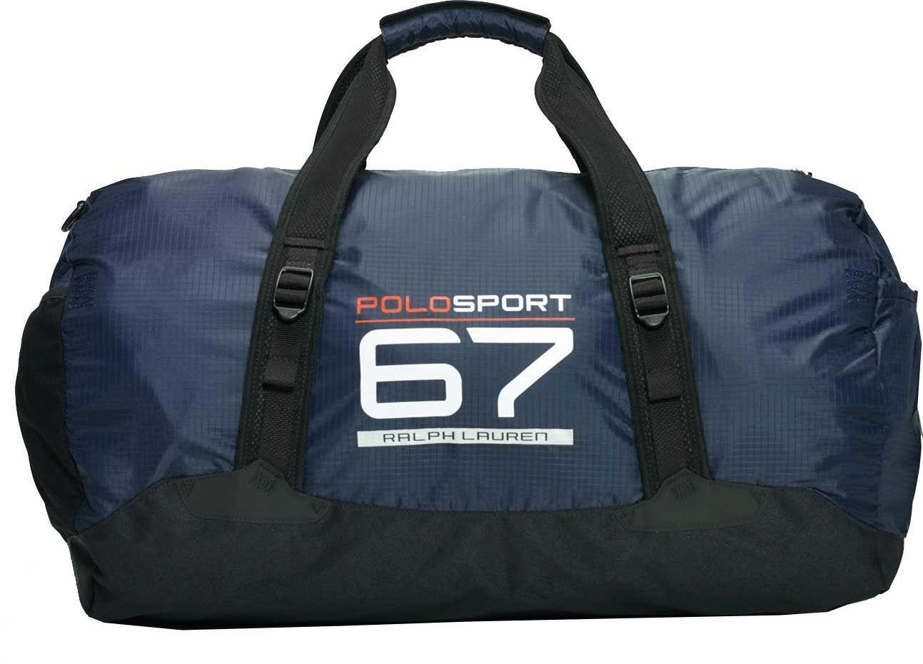 f73ae72caf Polo Ralph Lauren - Blue Nylon Sport Duffle Bag for Men - Lyst. View  fullscreen