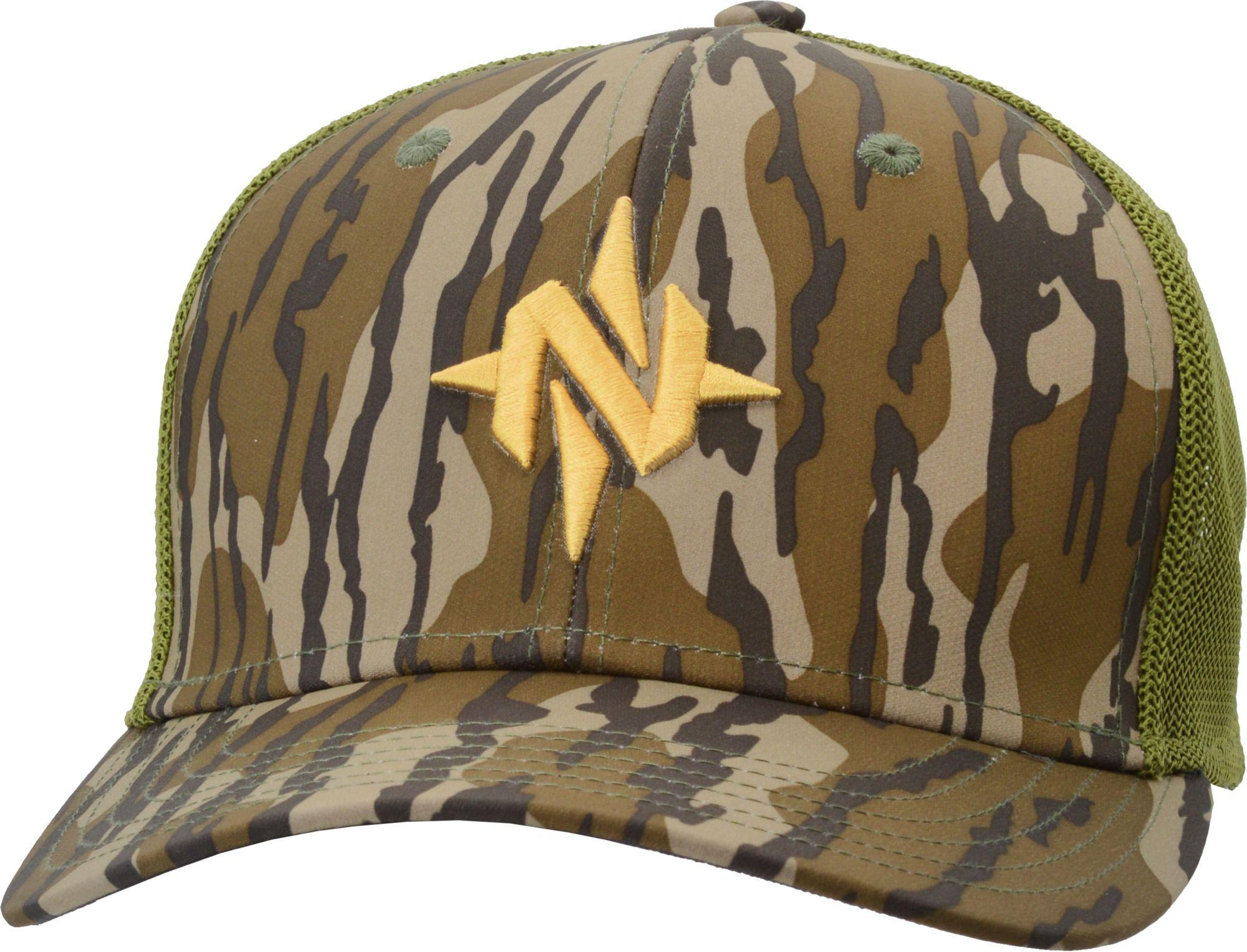 8ada2336896d Nomad Mark Camo Stretch Trucker Hat in Green for Men - Lyst