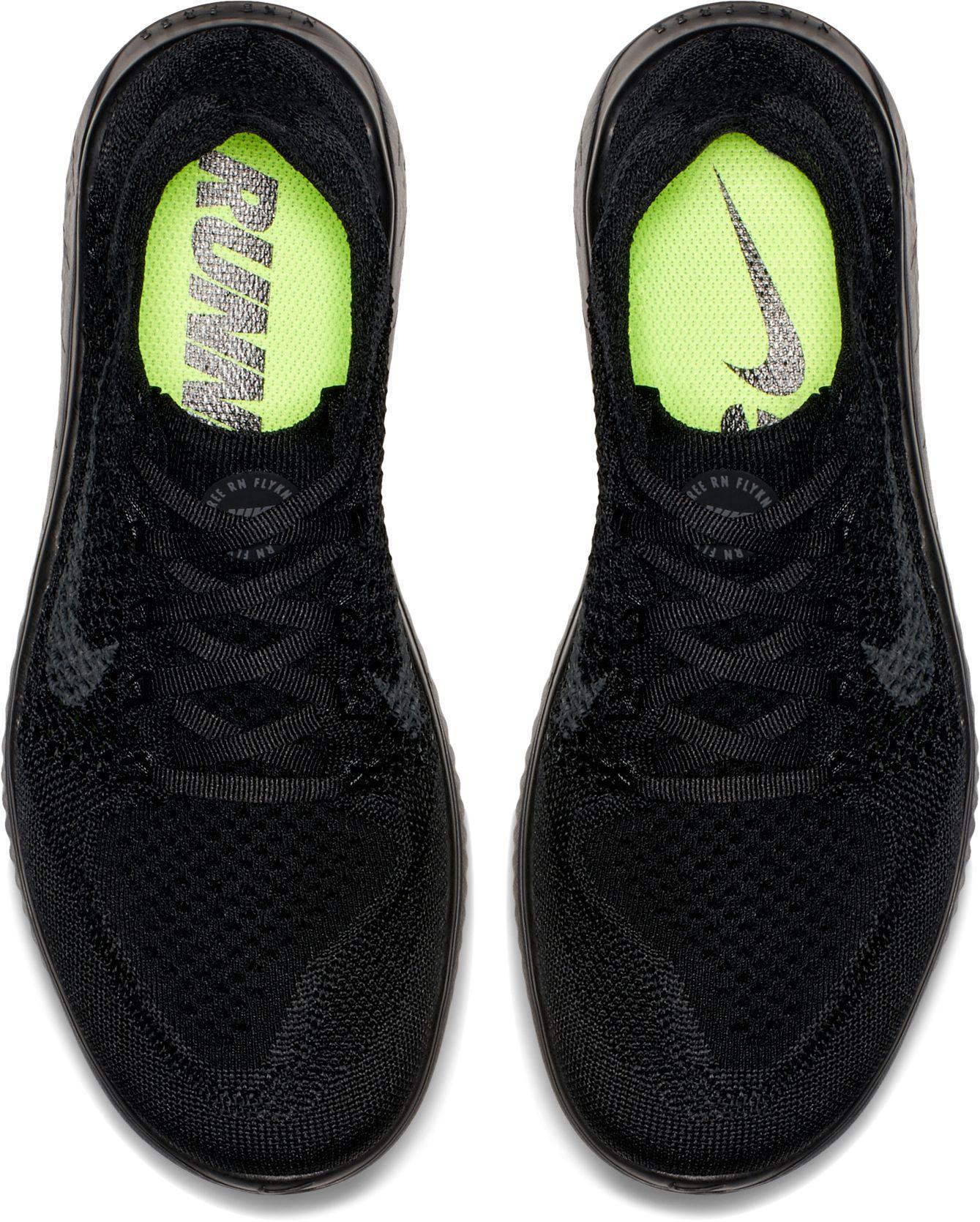 c41554addd35 Lyst - Nike Free Rn Flyknit 2018 Running Shoes in Black
