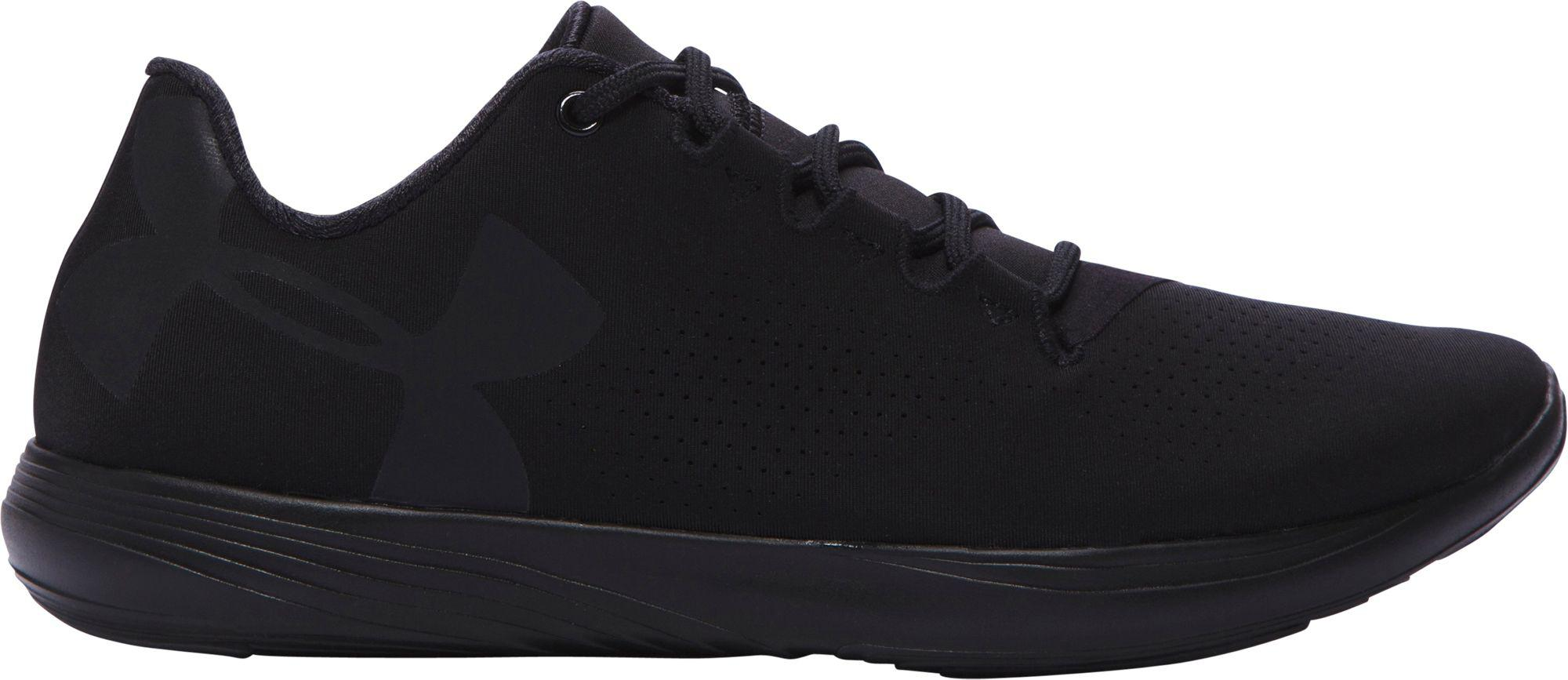 c8c2dcbd1a0ed9 Under Armour Street Precision Low Casual Shoes in Black for Men - Lyst